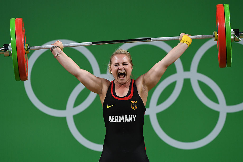 Sabine Kusterer is among the German weightlifters to have benefitted from the suspension of Romania from the weightlifting events at Tokyo 2020 ©Getty Images