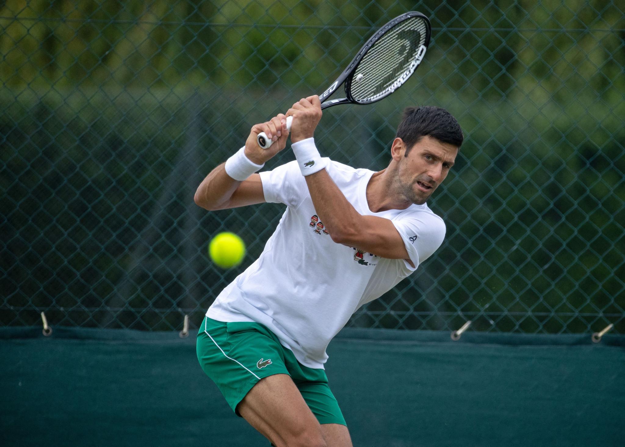 Djokovic eyes record-equalling 20th Grand Slam title at Wimbledon