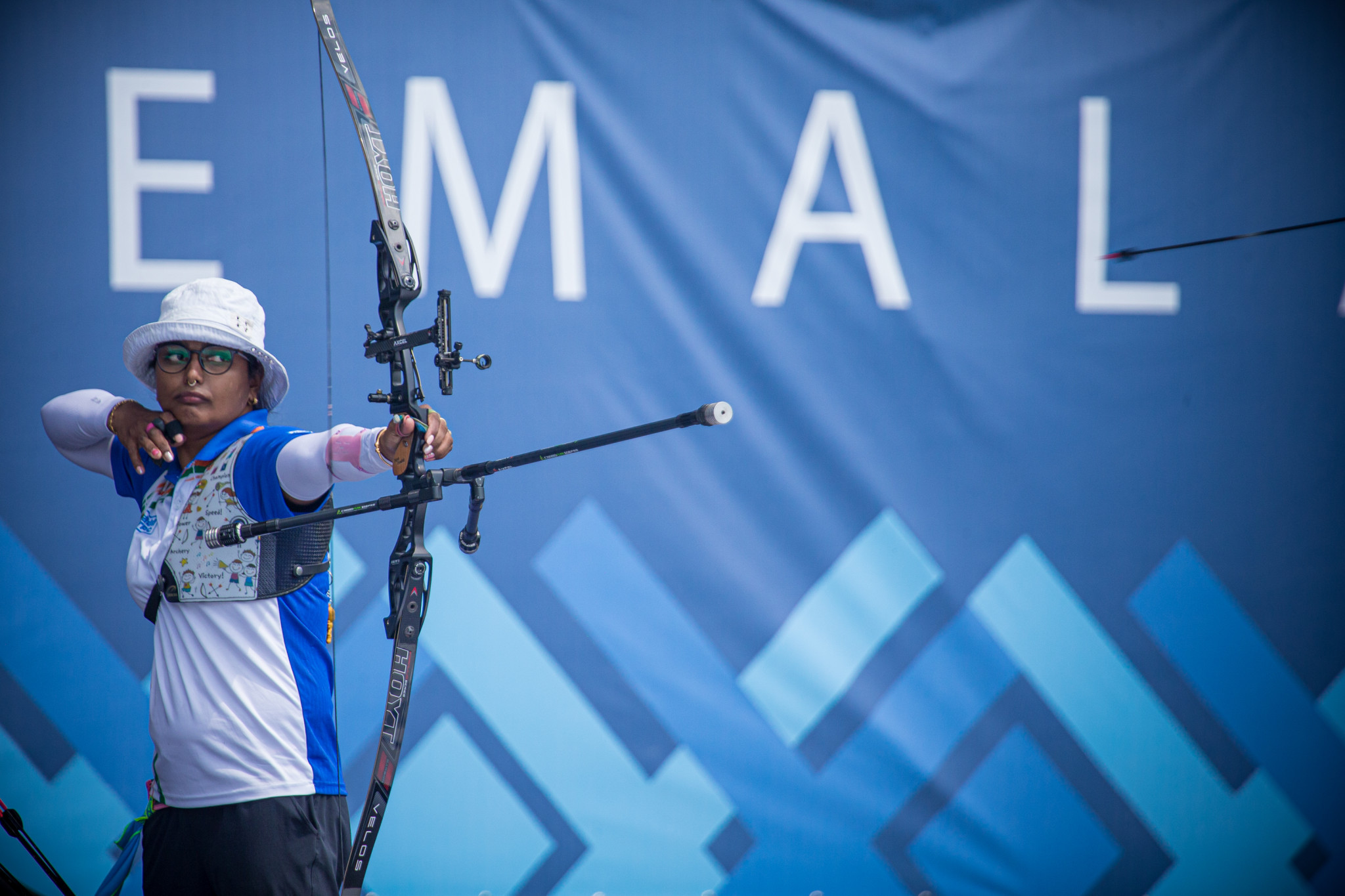 Kumari claims hat-trick of golds at Archery World Cup in Paris