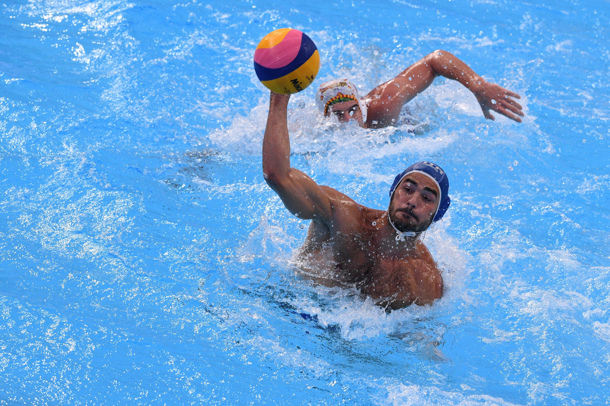 Francesco Di Fulvio scored four times in Italy's 11-8 victory over Greece ©Getty Images
