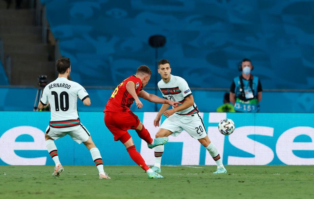 Belgium beat defending champions Portugal to reach Euro 2020 quarter-finals