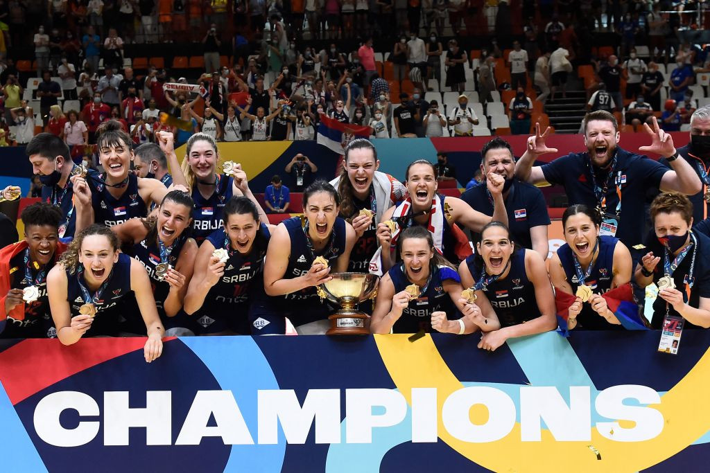 Serbia beat France to secure second FIBA Women's EuroBasket title