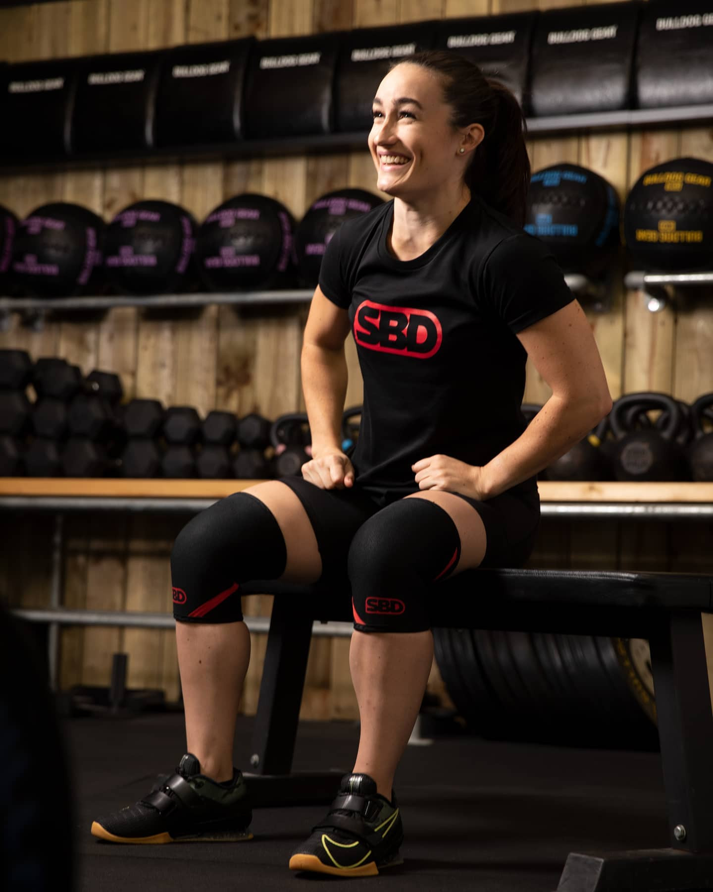 Sarah Davies is an example of the kind of female athlete who could help the IWF become a model International Federation ©Facebook