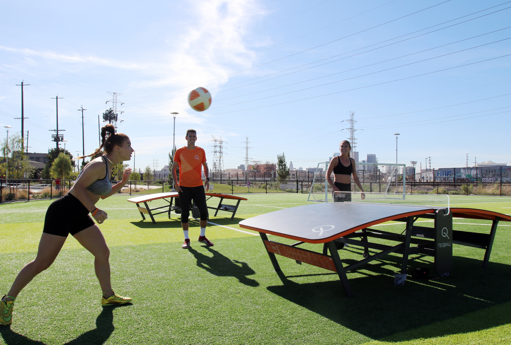 Teqball star Greco excited by potential growth of sport in US