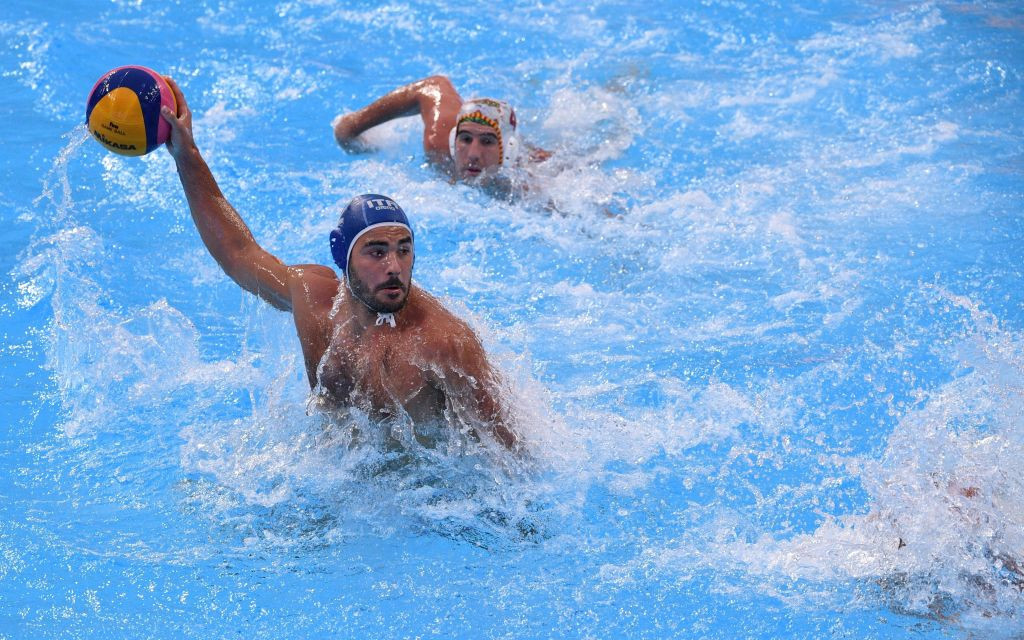 Italy and Montenegro top groups at Men's Water Polo World League Super Final