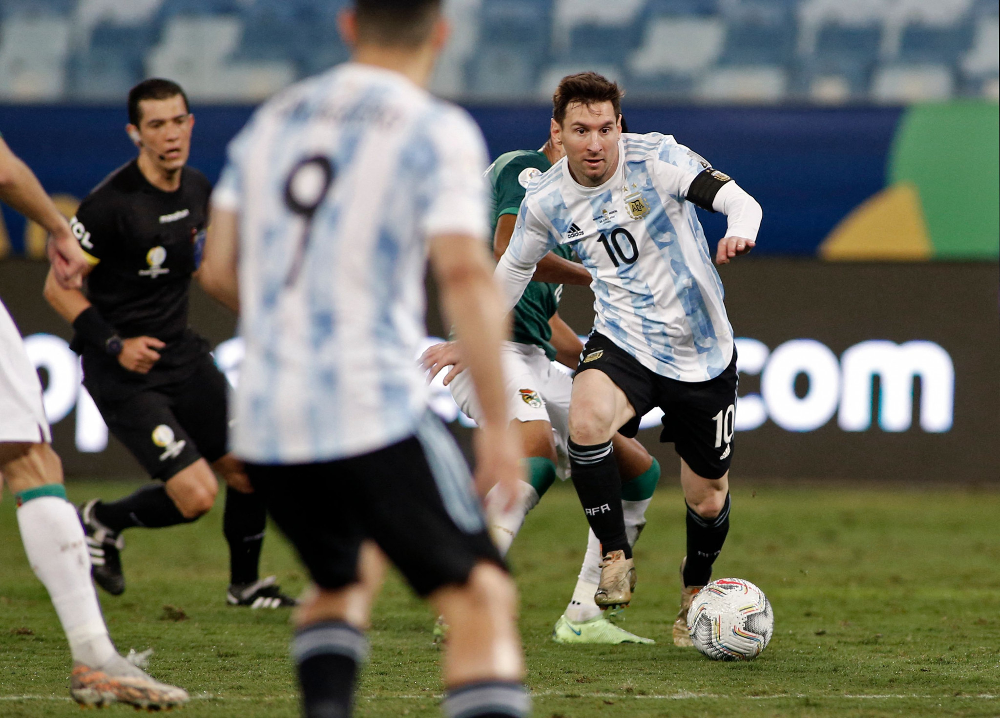 Messi bags brace in Argentina's thrashing of Bolivia at Copa América