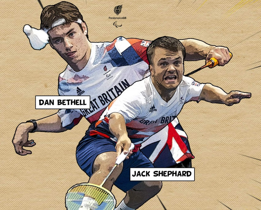 British badminton duo eye historic Tokyo 2020 golds after Paralympic selection