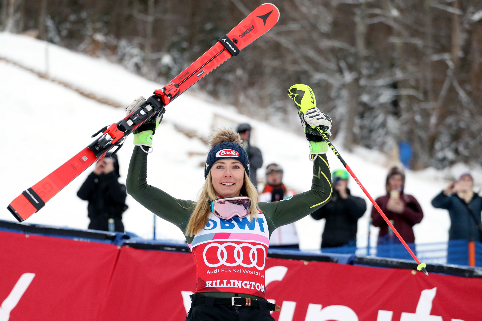 Mikaela Shiffrin has enjoyed plenty of success on the Killington slalom course ©Getty Images