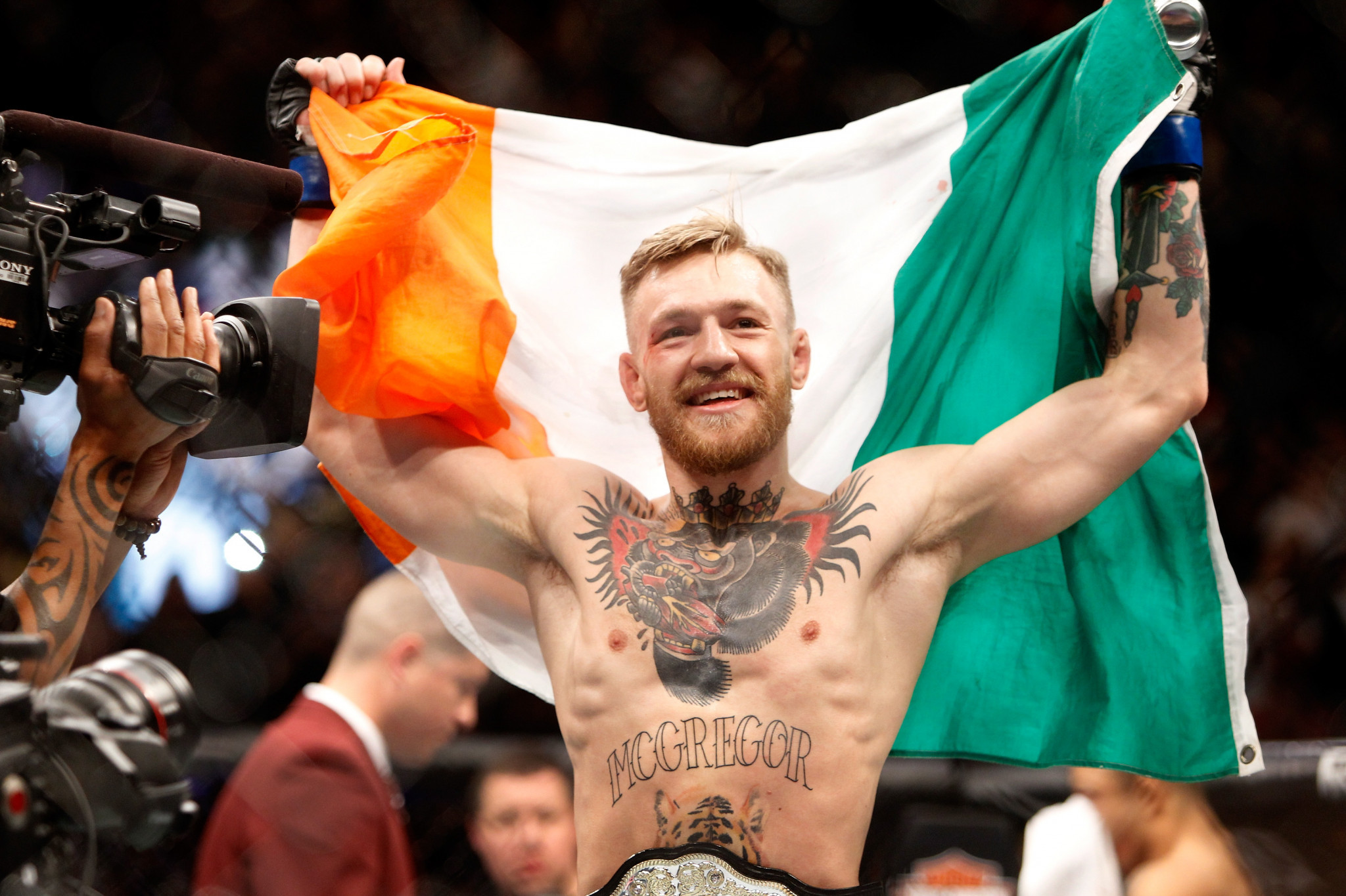 Conor McGregor will pay to get the Irish team to the Youth World Championships ©Getty Images