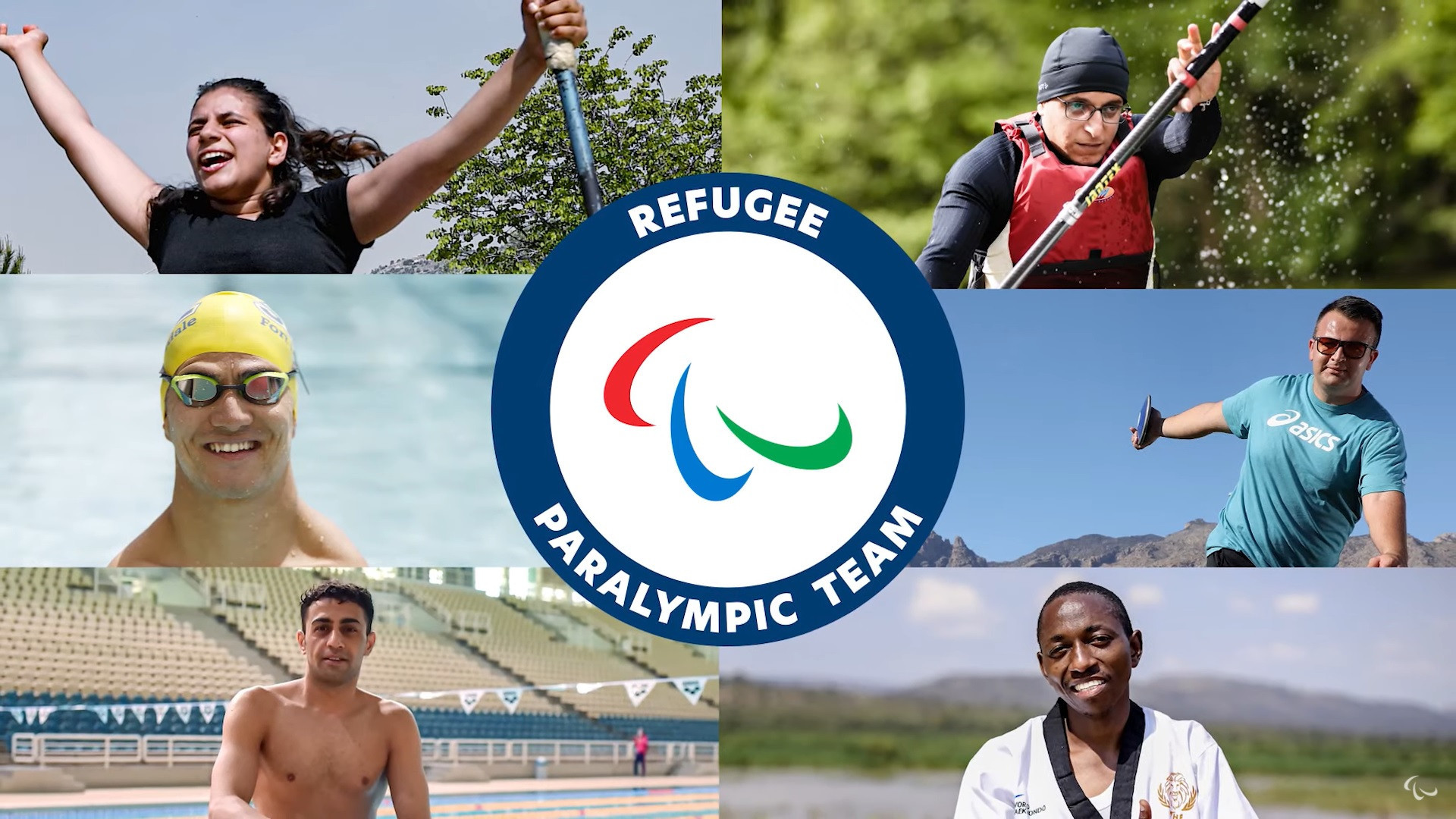 IPC unveils six-strong Refugee Paralympic Team for Tokyo 2020
