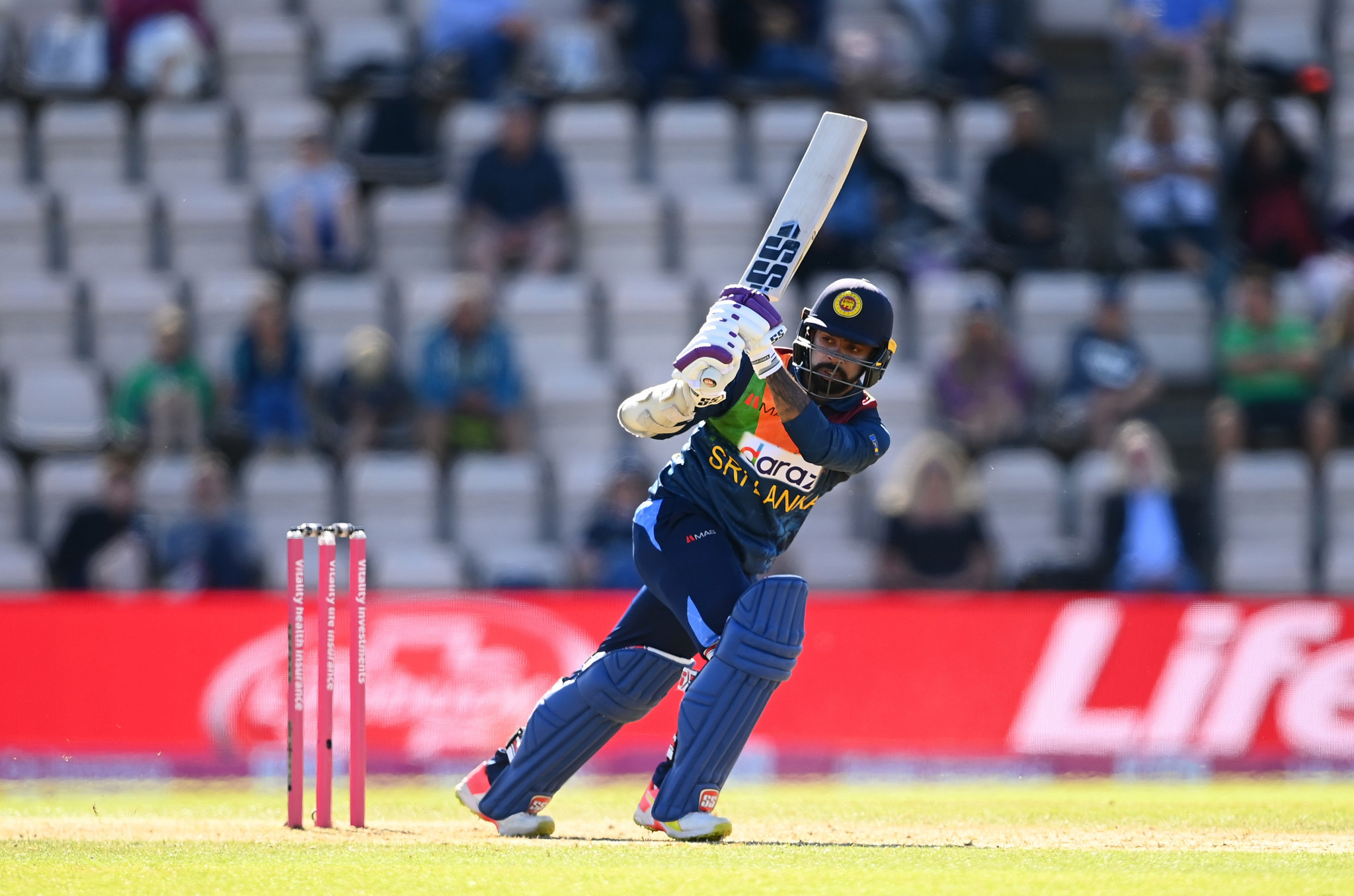 Niroshan Dickwella was seen smoking with Kusal Mendis in the streets of Durham ahead of Sri Lanka's meeting with England ©Getty Images
