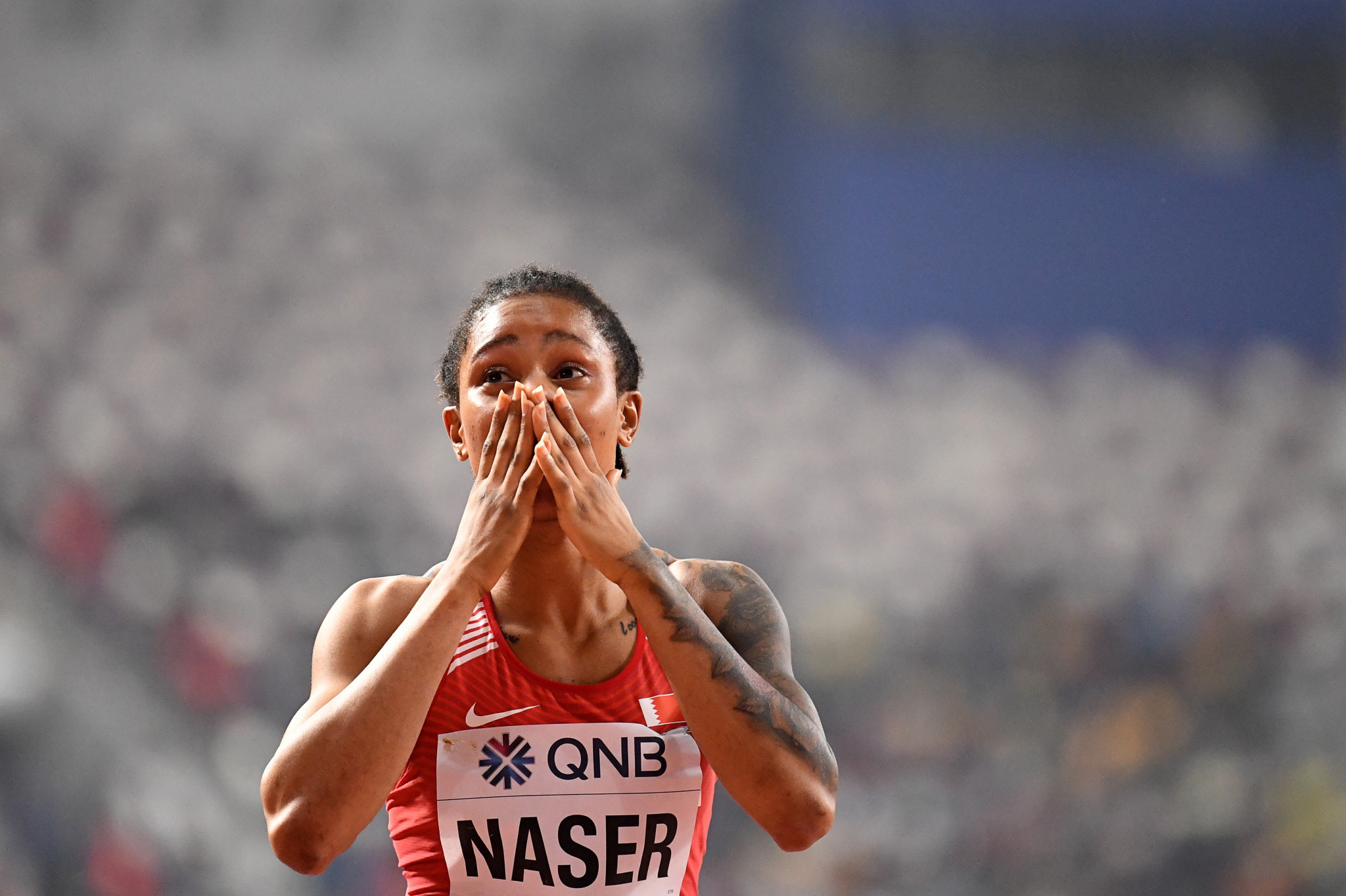 Naser given two-year ban and will miss Olympics as CAS finds world 400m champion guilty of anti-doping breach
