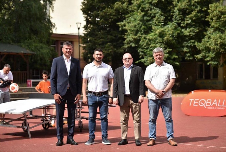 FITEQ general secretary meets key officials in Serbia as part of Teqball Roadshow