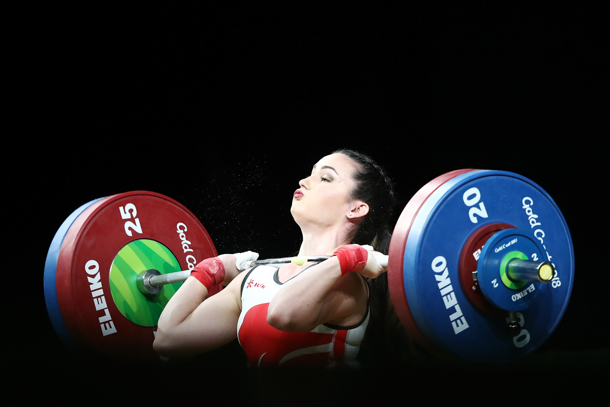 Sarah Davies, chair of the IWF Athletes' Commission, called for athletes to be given more of a say in governance issues ©Getty Images
