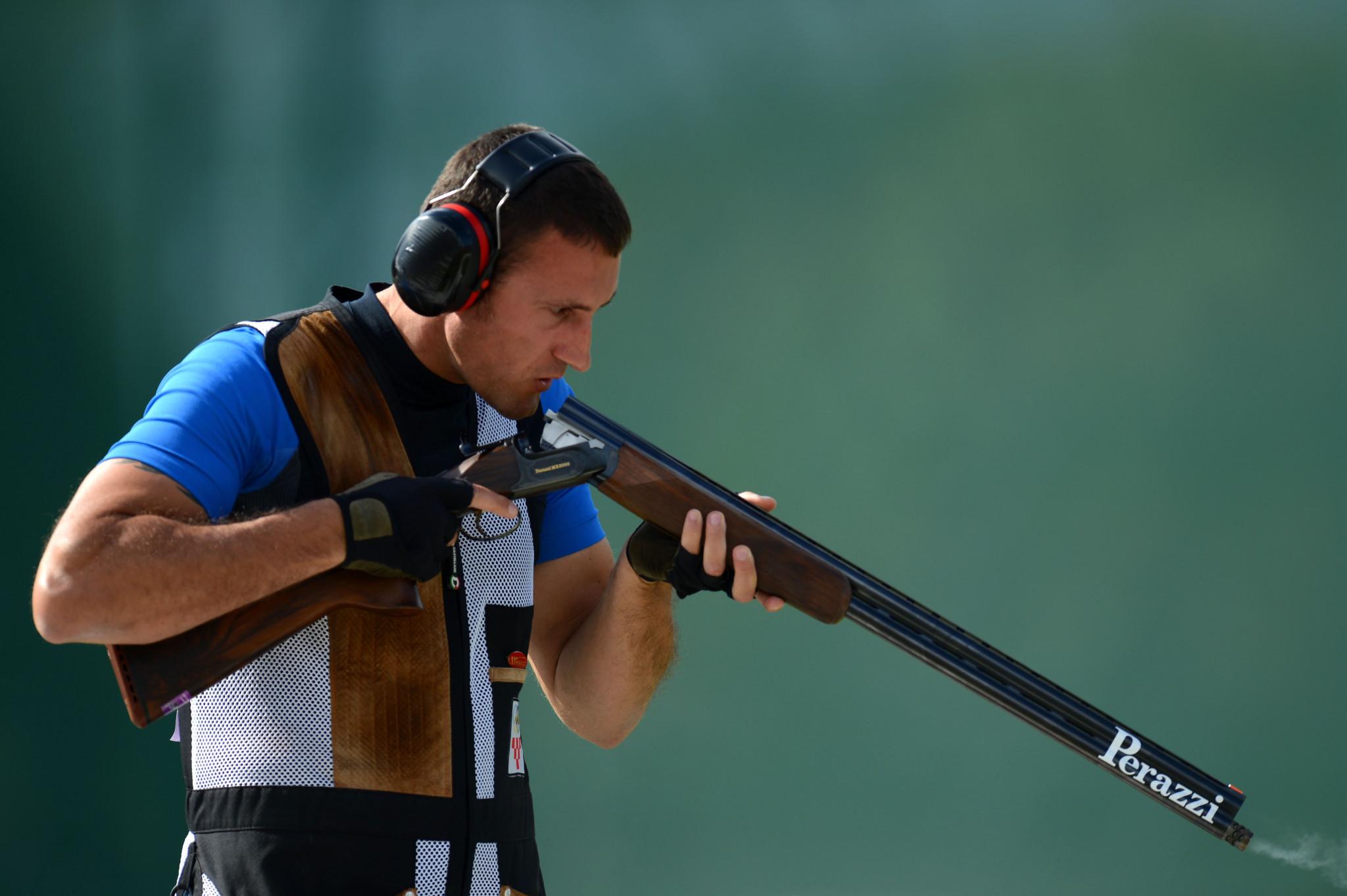 Croatia's Giovanni Cernogoraz won a bronze medal on home soil ©Getty Images