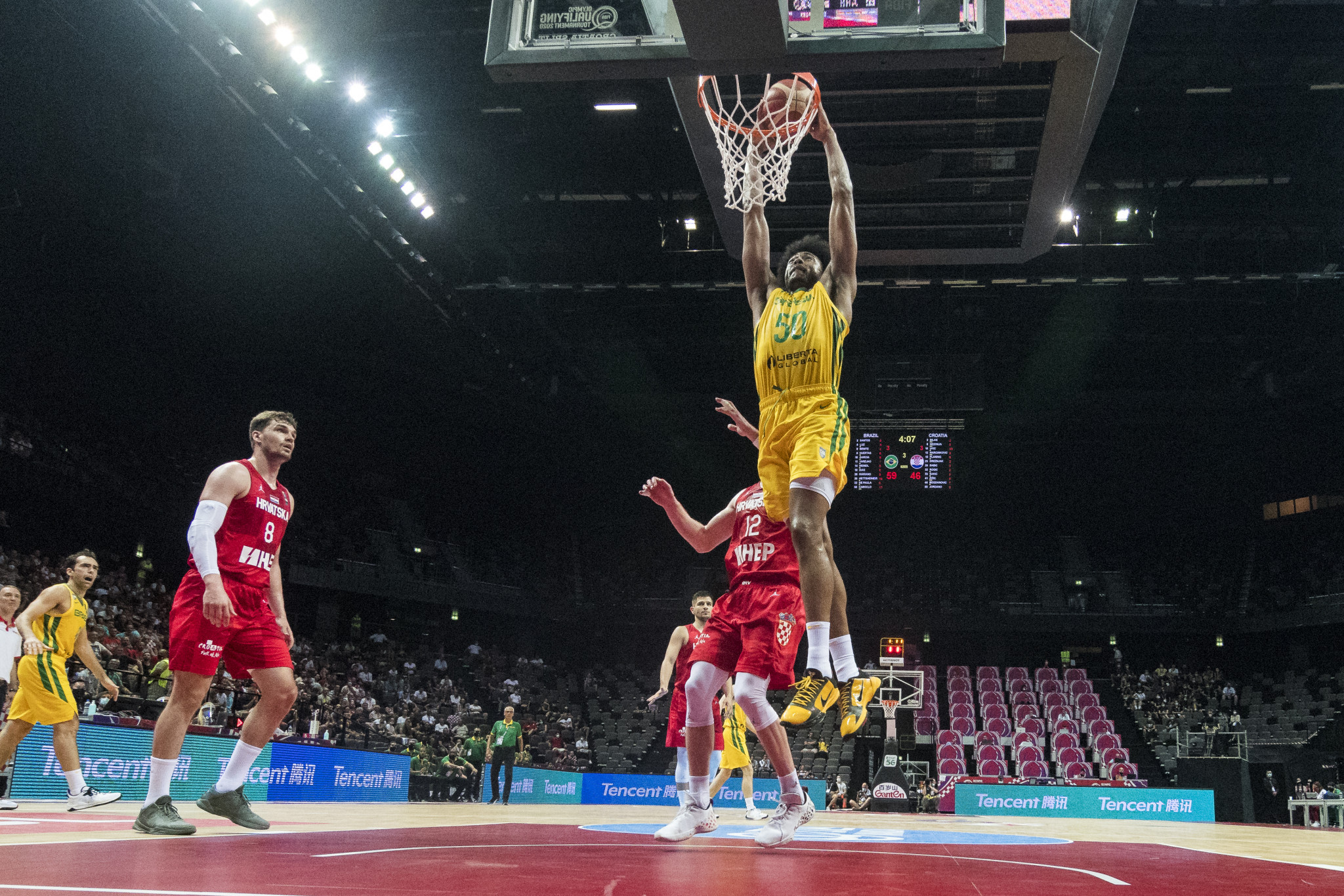 Dončić shines as Slovenia begin Olympic basketball qualifier in style
