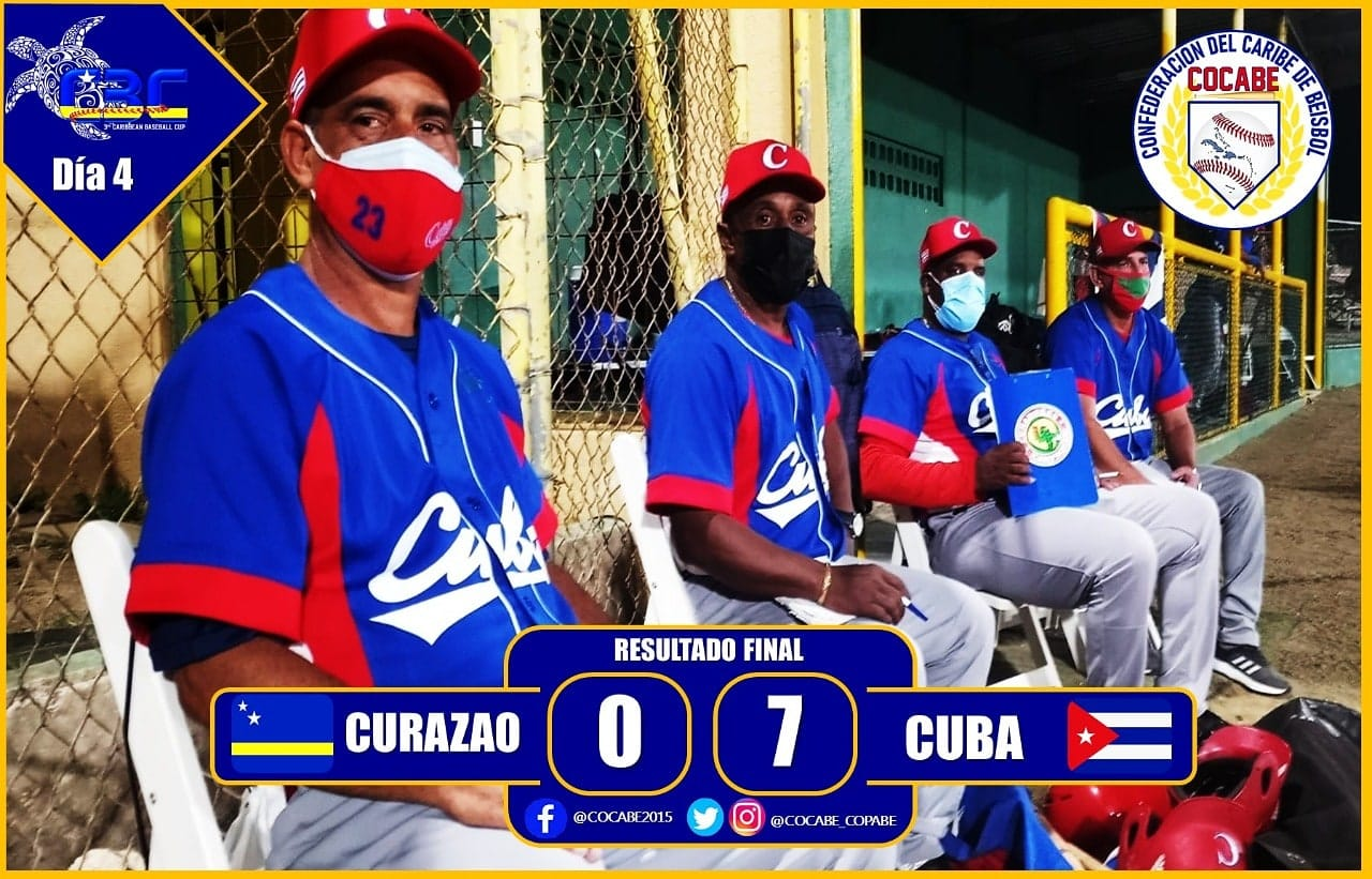 Cuba overcame Curaçao to remain unbeaten after three matches ©COCABE