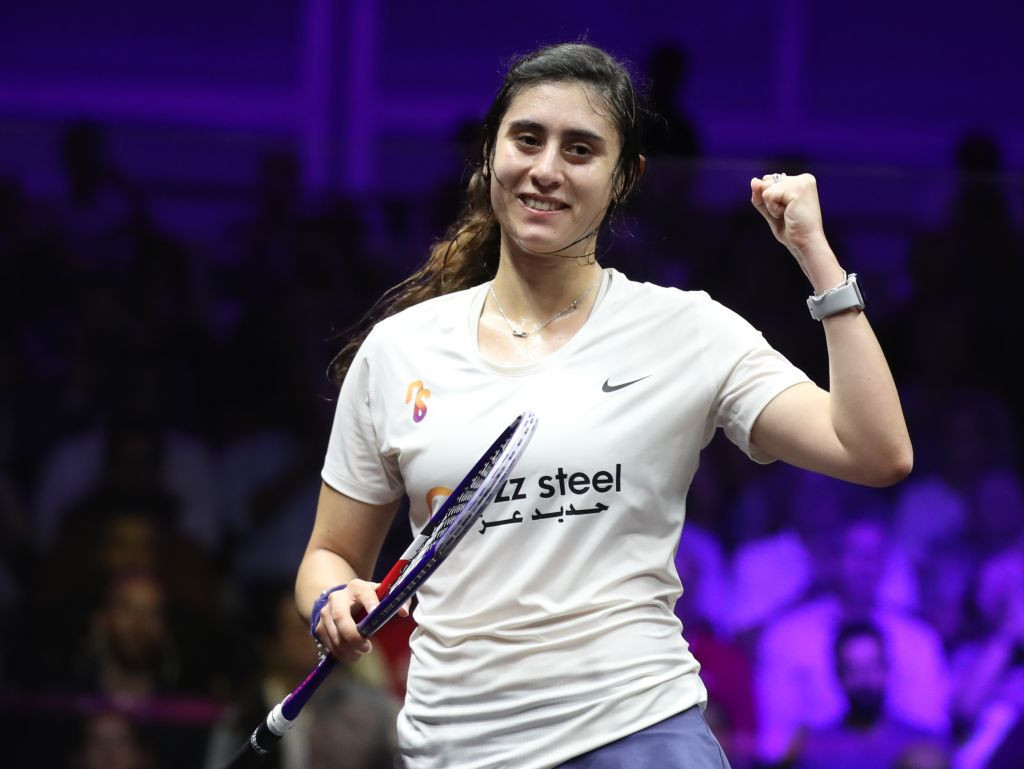 Egypt's Nour El Sherbini has topped the PSA women's world rankings for a 40th career month ©Getty Images