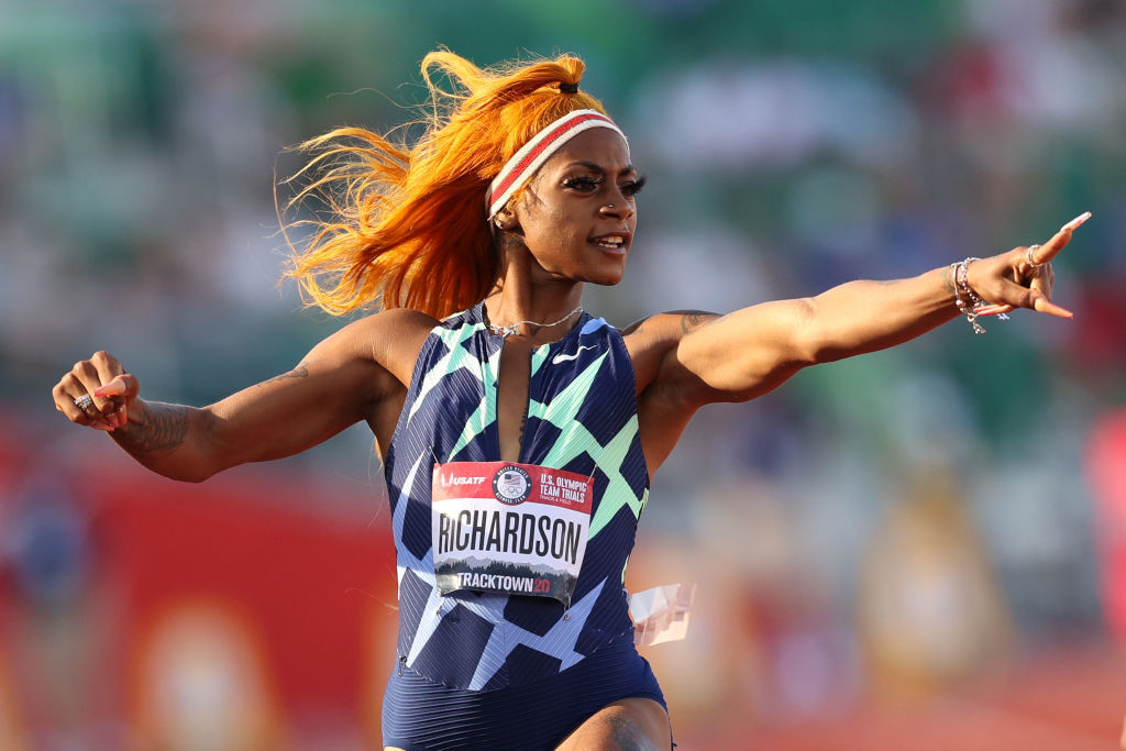 Richardson out of women's 100m at Tokyo 2020 after accepting one-month ban for taking cannabis