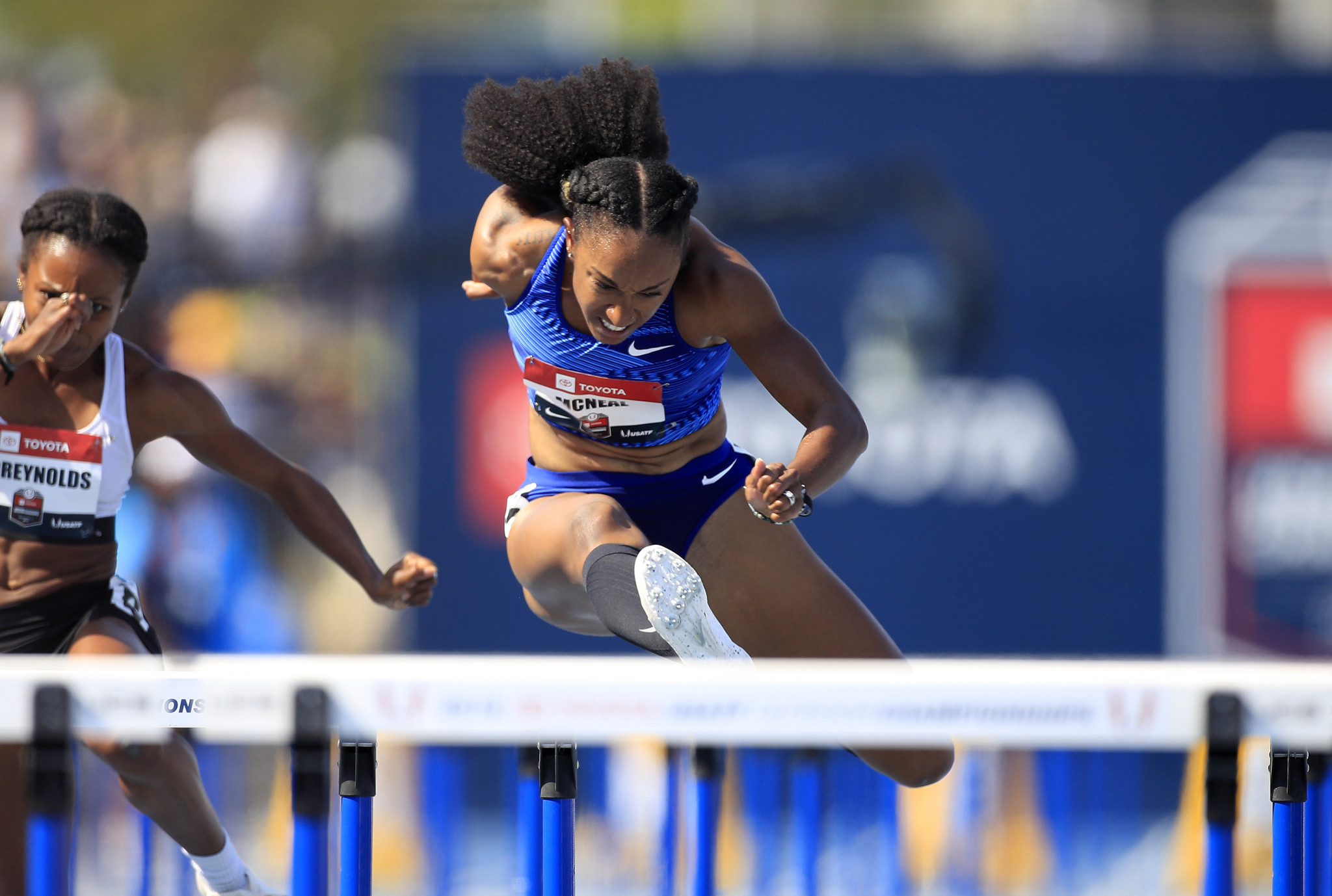 Brianna McNeal will miss both the Tokyo 2020 and Paris 2024 Olympic Games  ©Getty Images