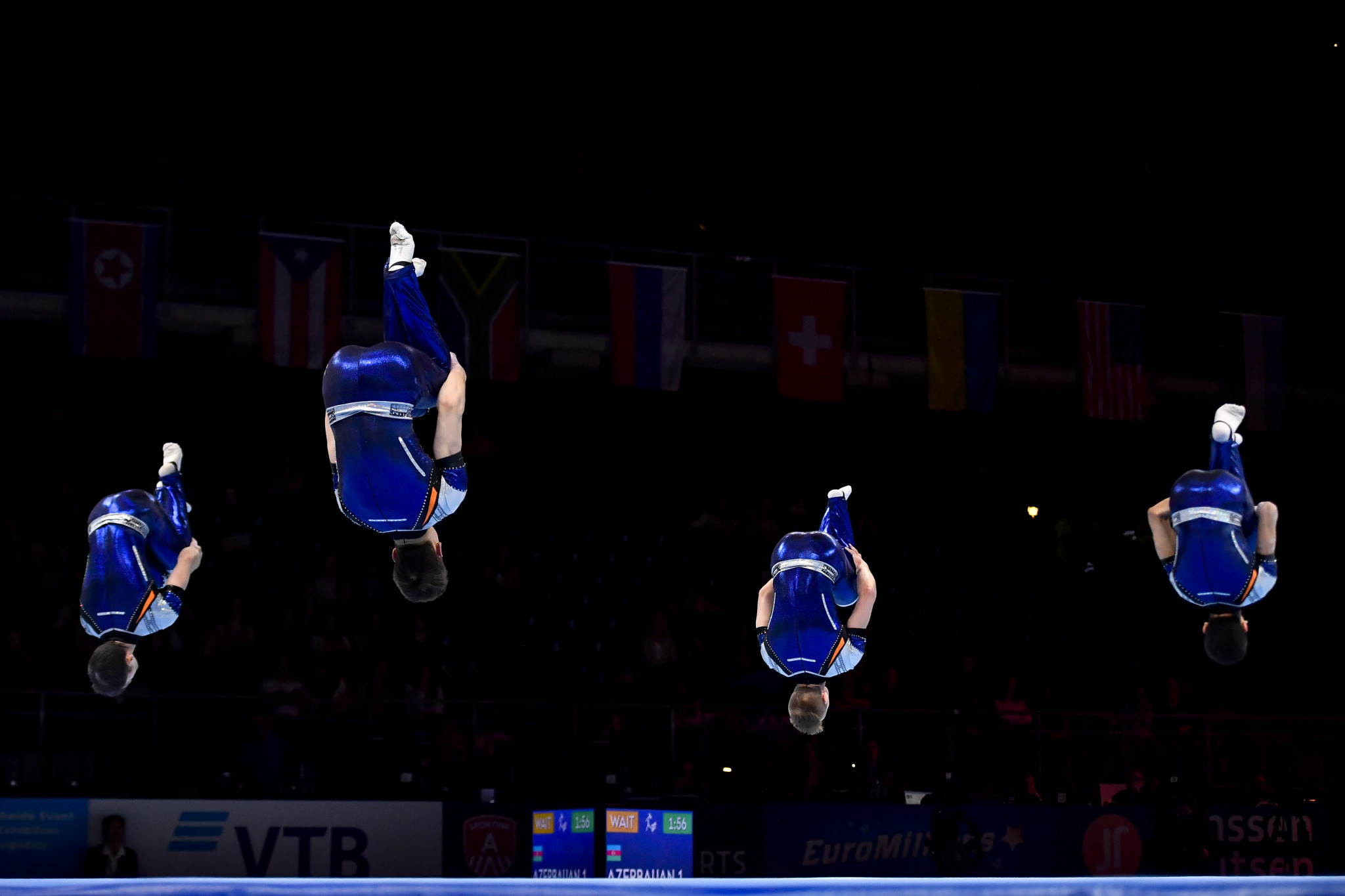 Four nations have made strong starts at the 2021 Acrobatic Gymnastics World Championships in Geneva ©FIG