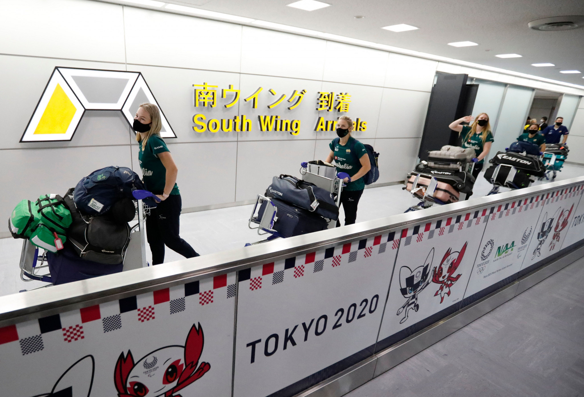 Tens of thousands of athletes, staff and journalists are set to arrive in Tokyo, increasing fears from the Japanese public and medical experts over potential COVID-19 outbreaks ©Getty Images