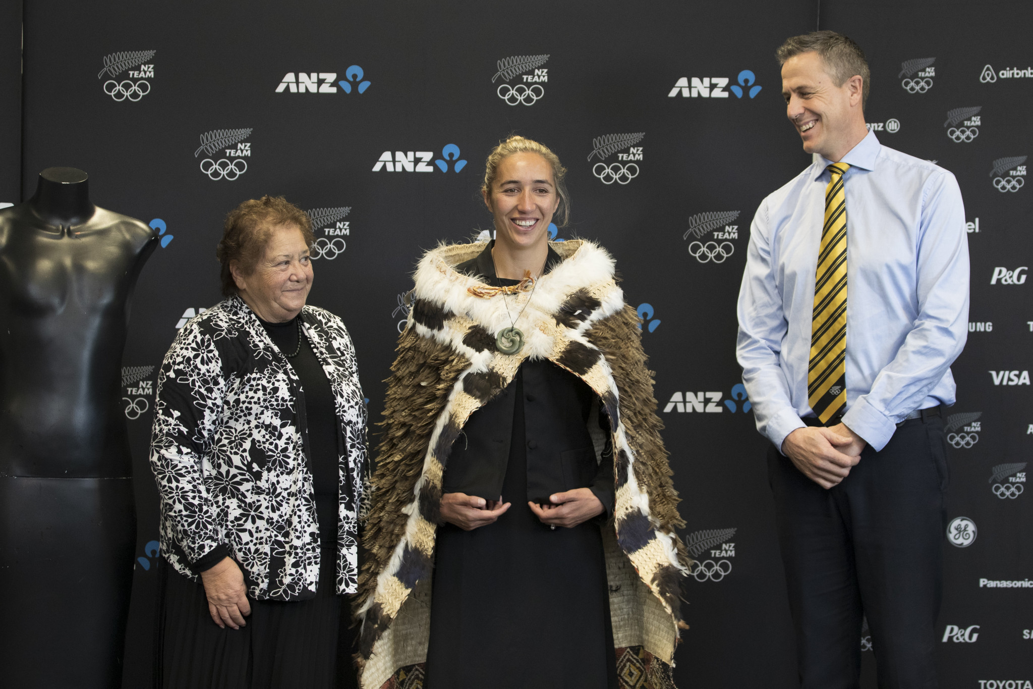 Sarah Hirini, cenrtre, captain of the New Zealand women's rugby sevens team, will be one of two flagbearers at the Olympic Opening Ceremony on July 23 ©Getty Images