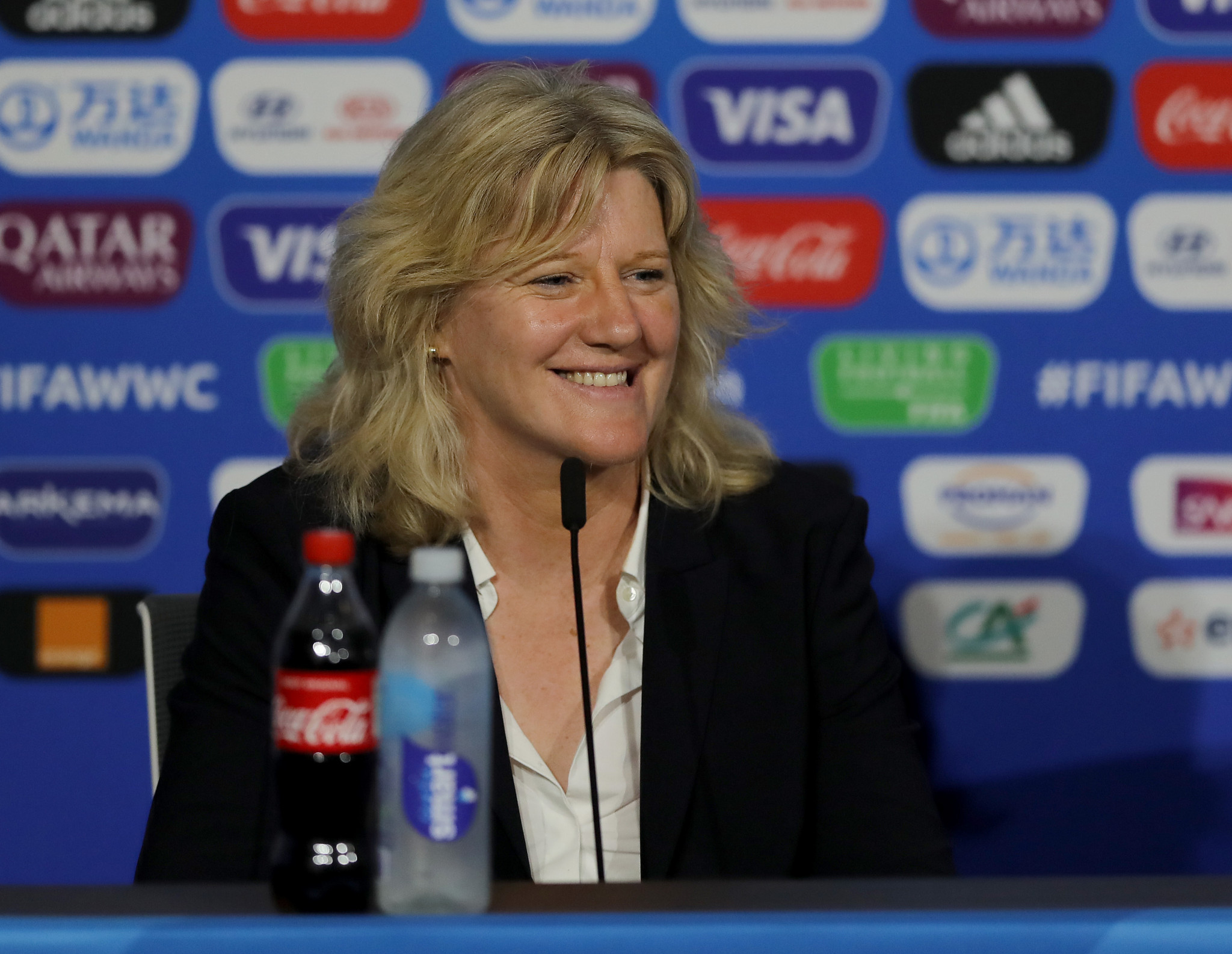 Brigitte Henriques is determined to achieve parity across the CNOSF's member federations ©Getty Images