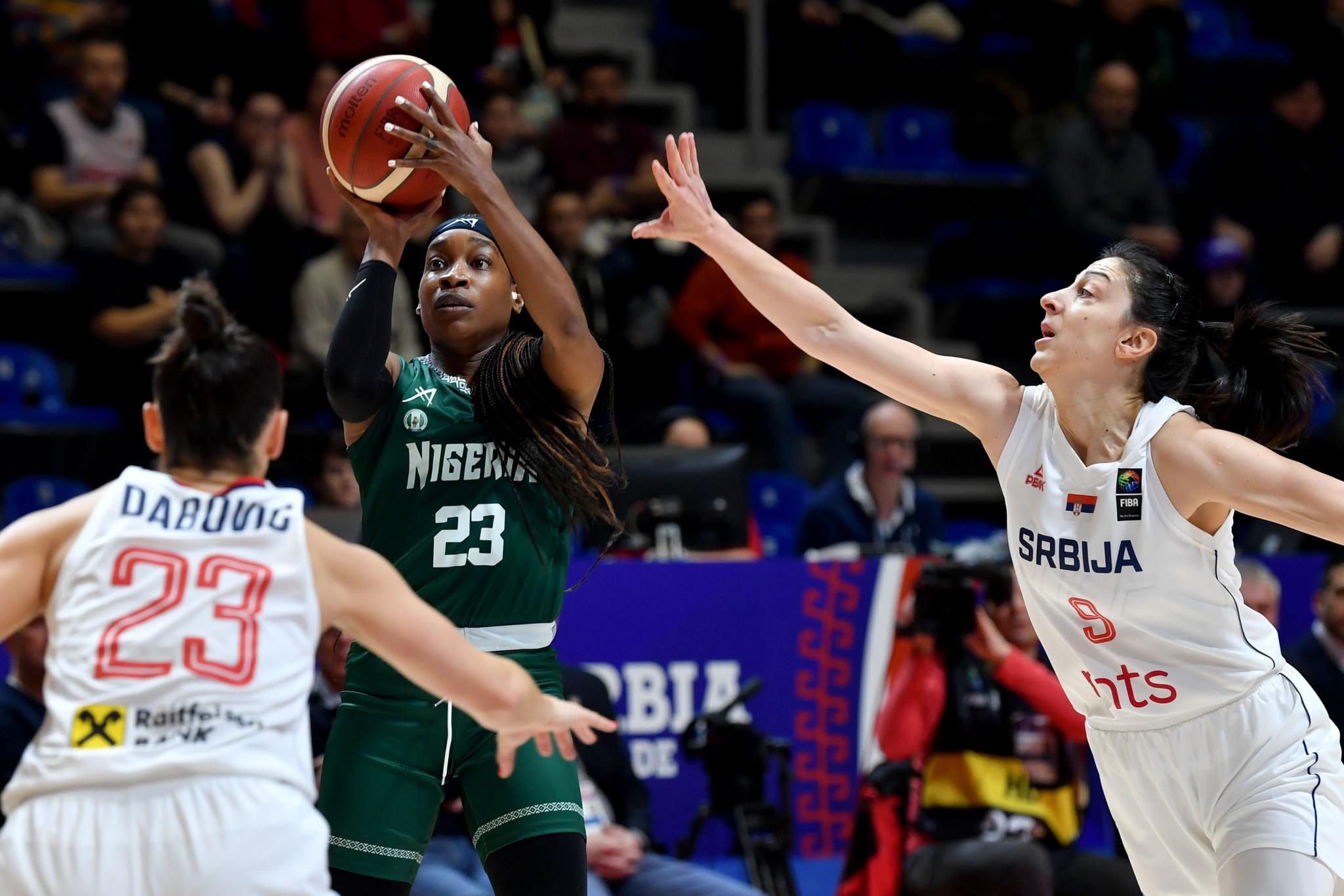 Nigerian Basketball star Ezinne Kalu also runs a cosmetics company ©Getty Images