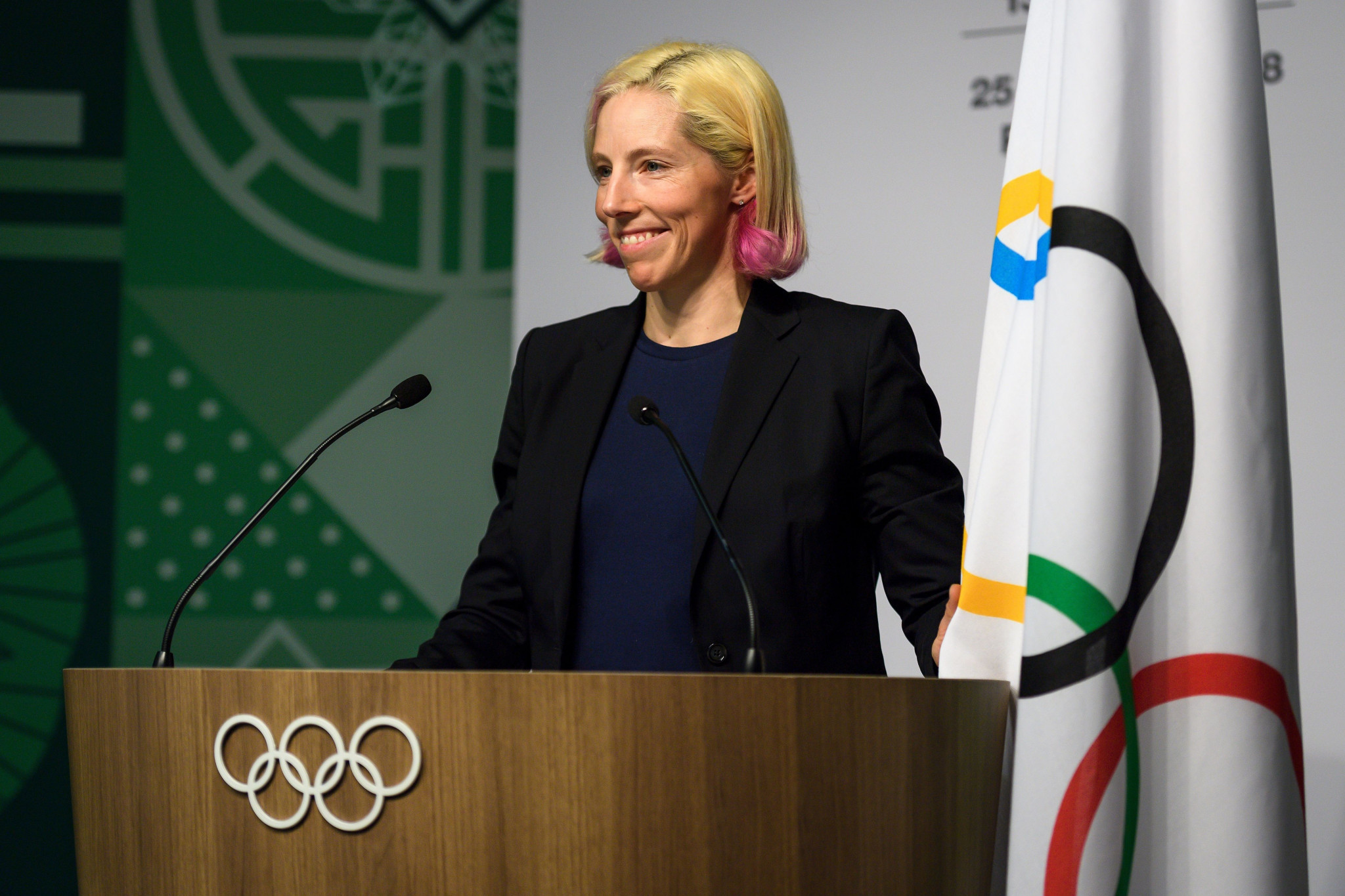 Kikkan Randall has left the USOPC Board after resigning as an IOC member ©Getty Images