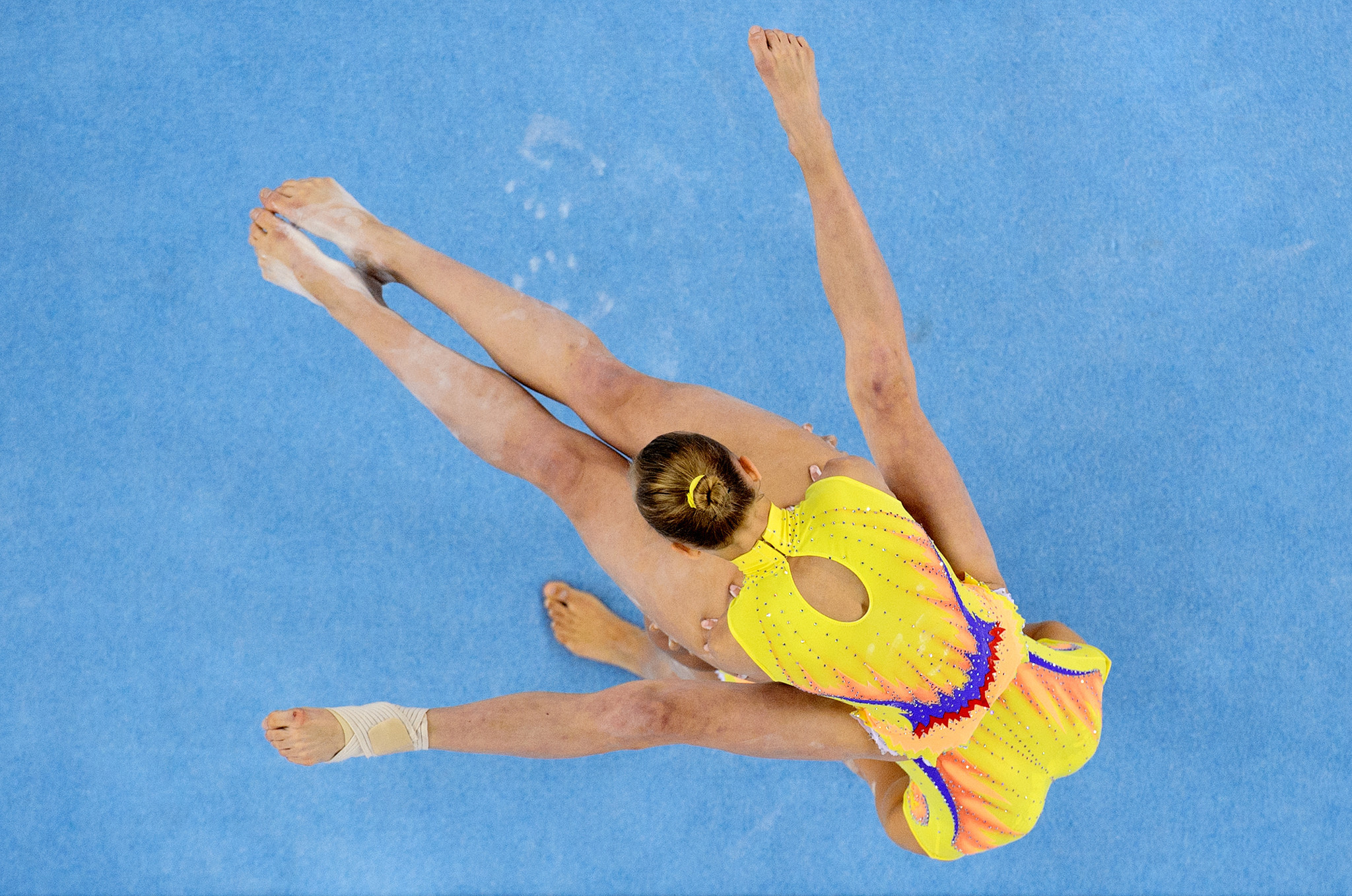 RGF teams take first two golds at Acrobatic Gymnastics World Championships in Geneva