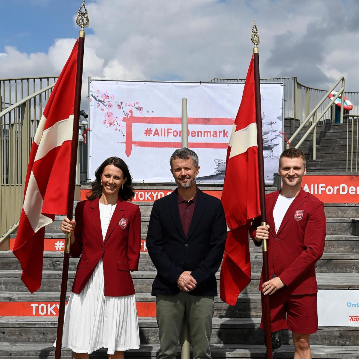 Gjessing and Wagner picked as Danish flagbearers for Paralympic Opening Ceremony