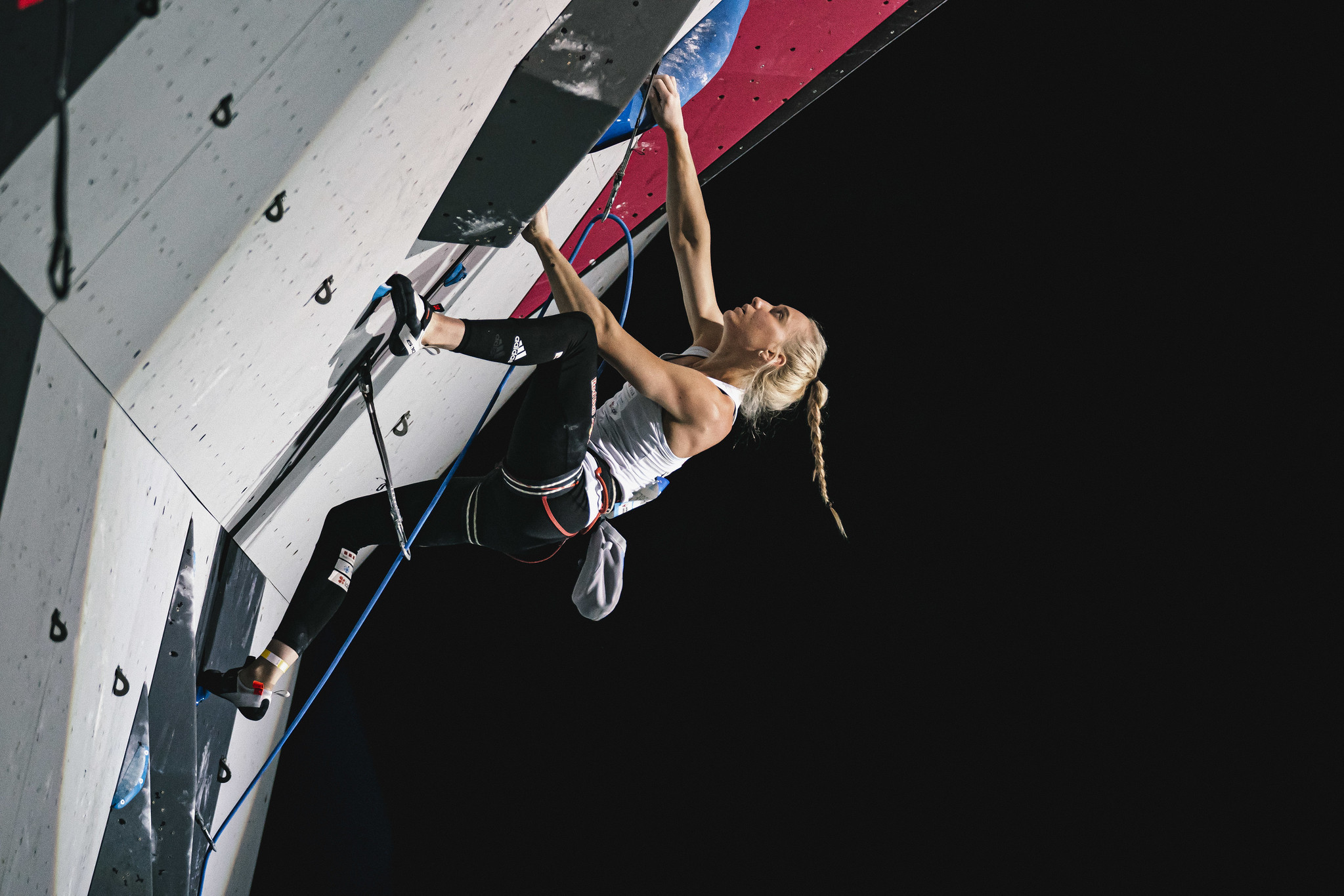 Garnbret adds lead to boulder gold at IFSC World Cup in Villars