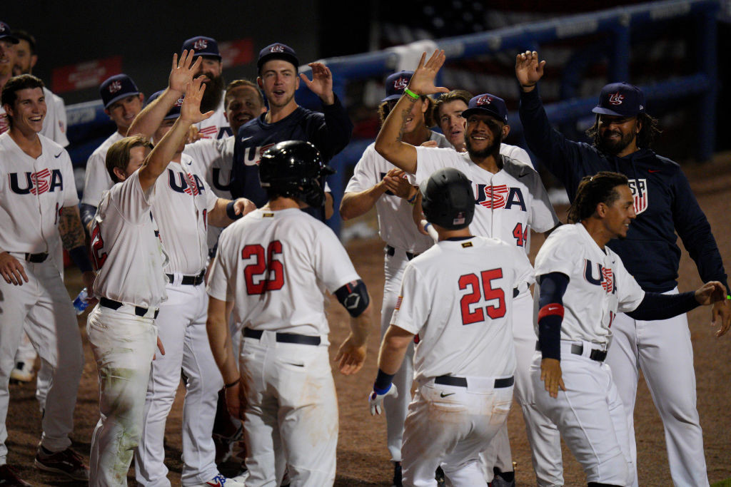 USA Baseball has named its 24-man roster for the Tokyo 2020 Olympics ©Getty Images