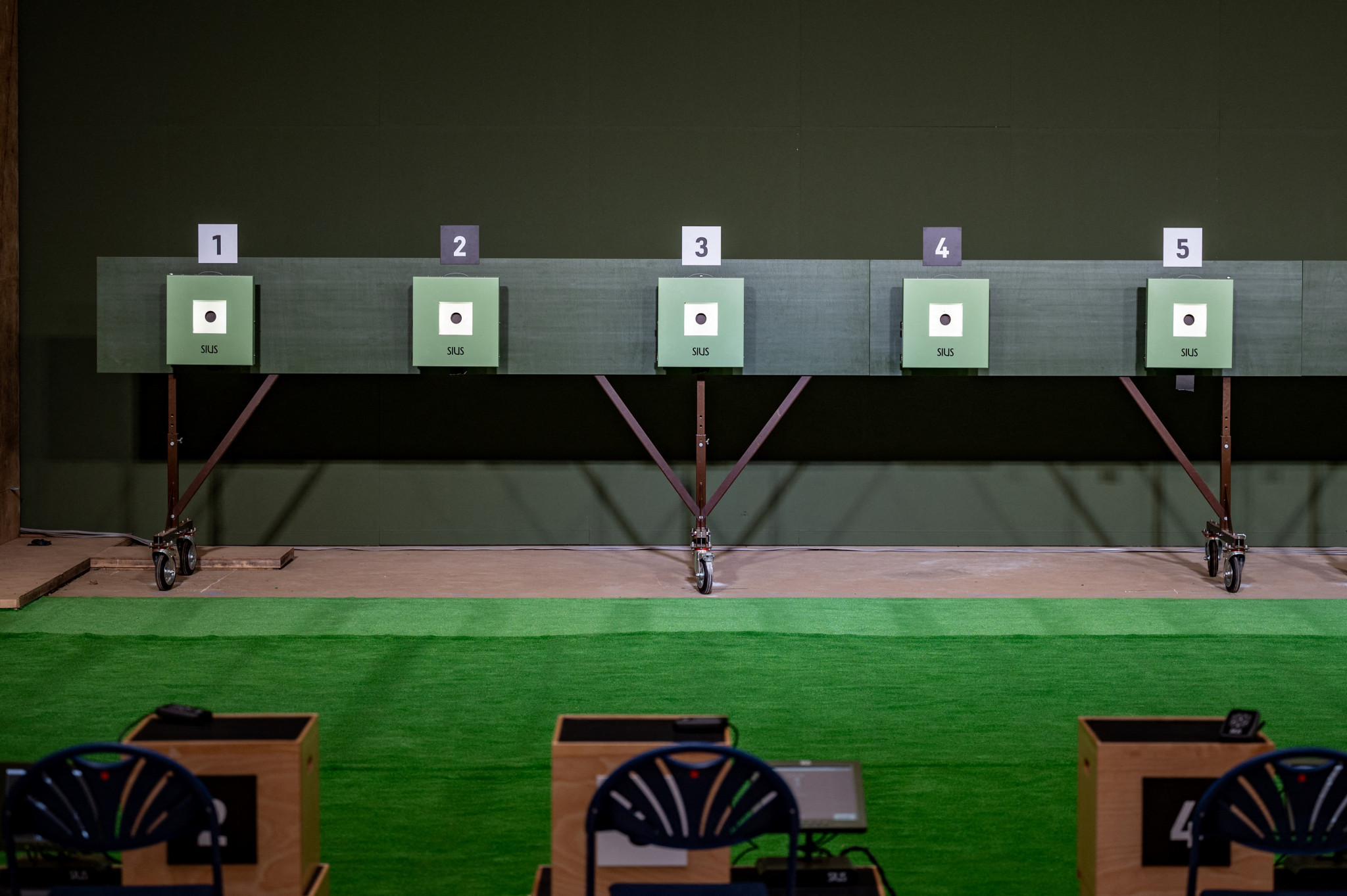 Sweden's Normann finishes World Para Shooting Sport Grand Prix with three golds