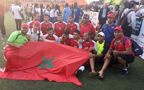 Morocco and Berka seeking first podium finish in Tokyo 2020 blind football contest