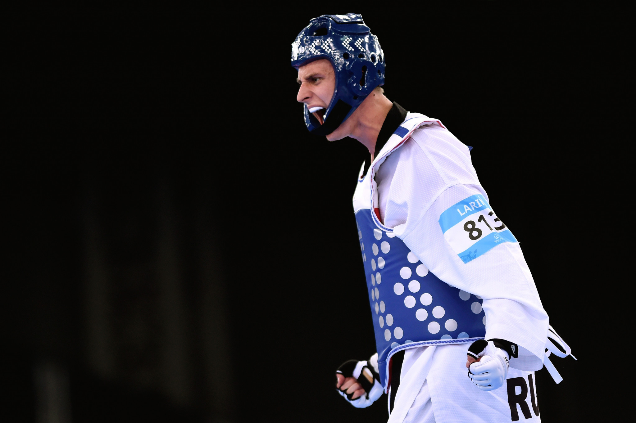 Vladislav Larin boasts a formidable taekwondo record ©Getty Images