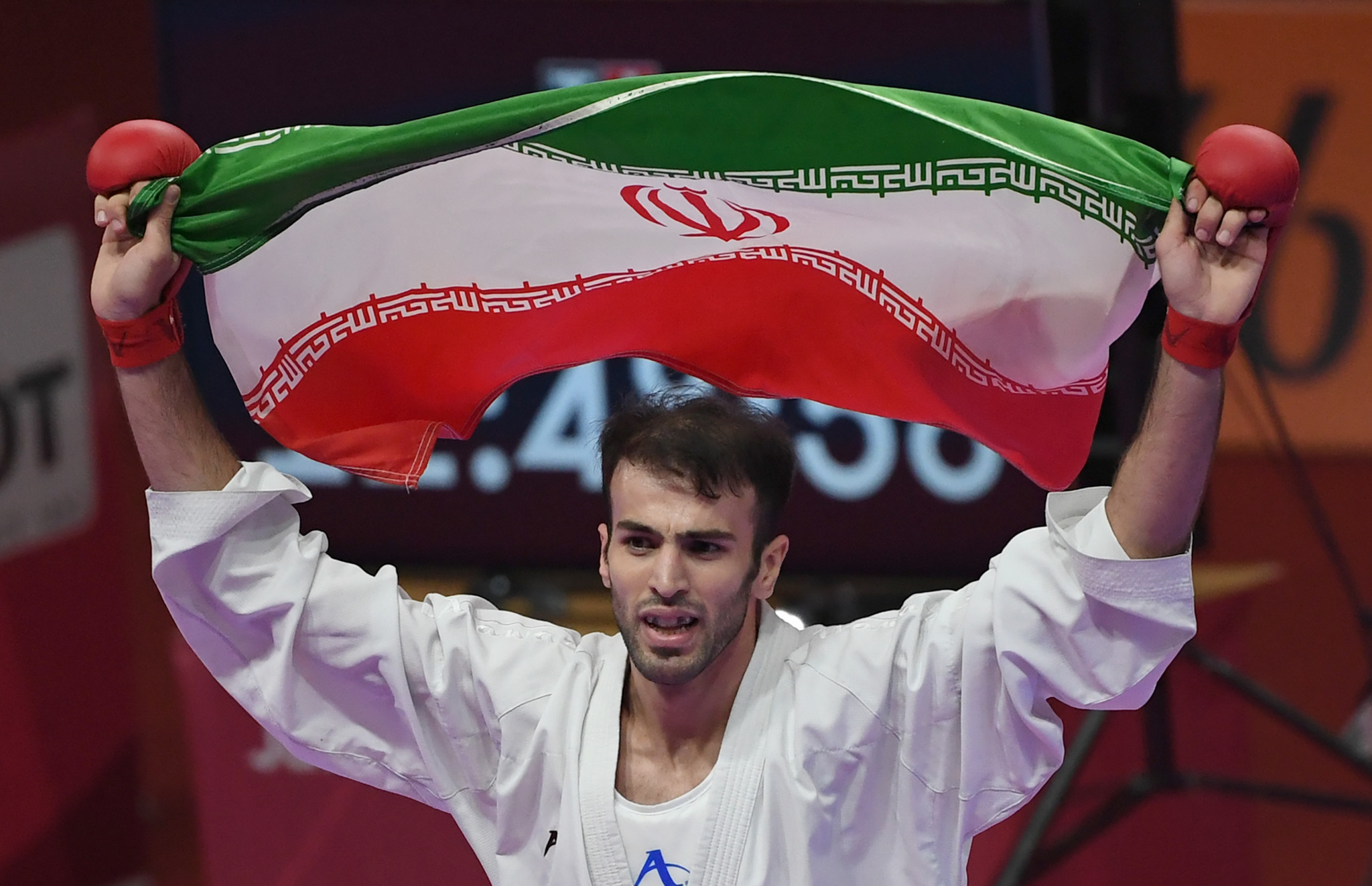 Iranian world champion to miss karate's Olympic debut after doping ban