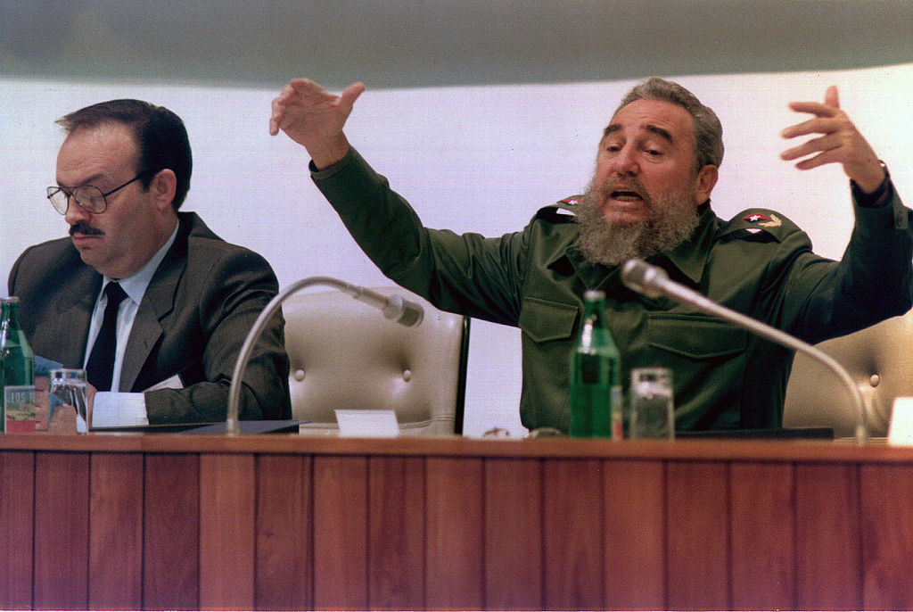 Cuba's longtime leader Fidel Castro was a winning athlete in Havana before he was a politician ©Getty Images