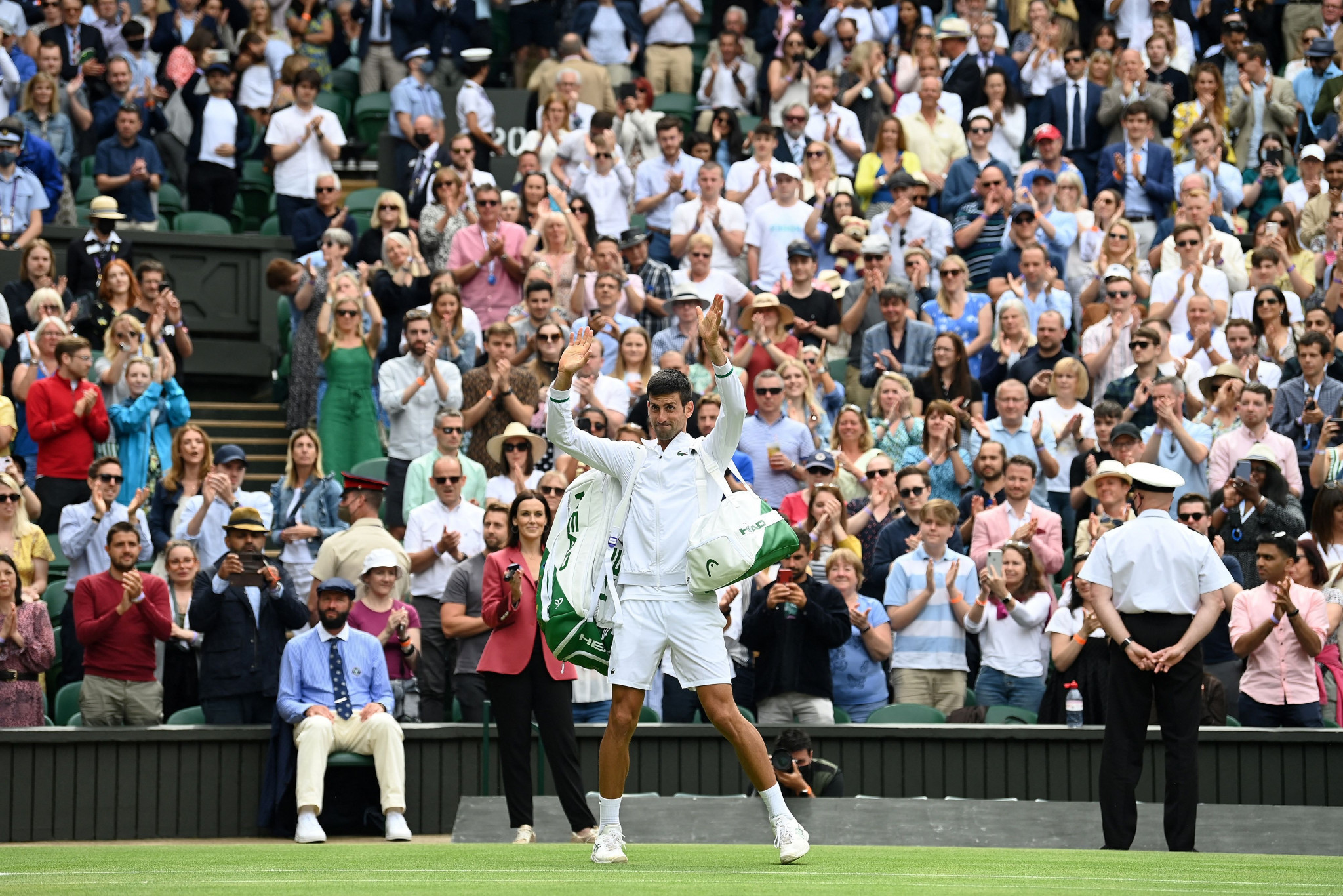 Wimbledon show courts to have capacity crowds from quarter-finals onward