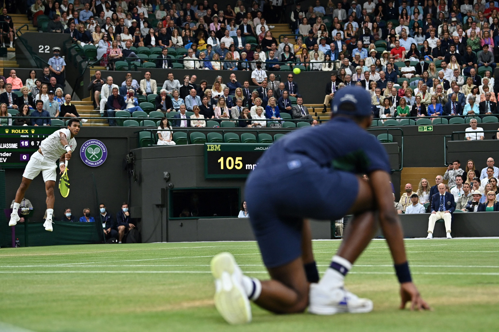 Felix Auger-Aliassime is one of two Canadian men in the last eight after knocking out the fourth seed ©Getty Images