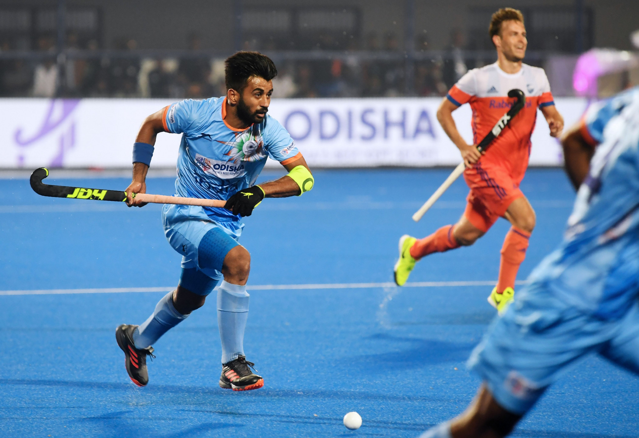 Manpreet Singh will be hoping to steer India to medal success after leading the country into Japan's National Stadium ©Getty Images