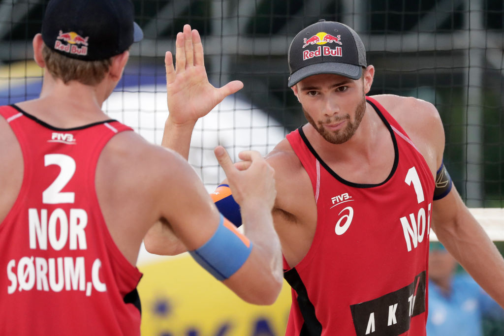 Favourites Mol and Sorum see early route to gold as Tokyo 2020 beach volleyball draw is made