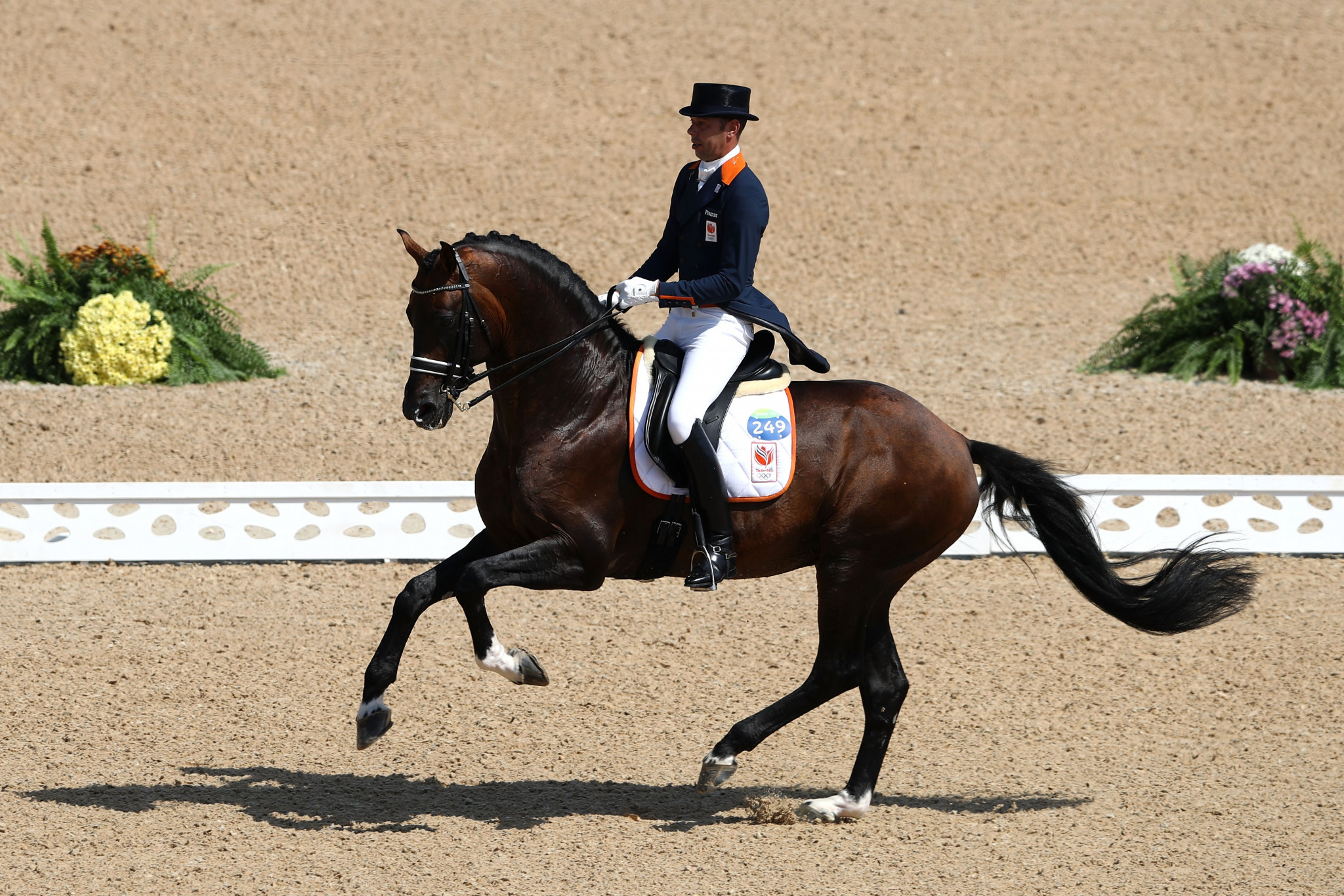 Hans Peter Minderhoud is set to be part of The Netherlands' reshuffled dressage team at the Tokyo 2020 Olympics ©Getty Images