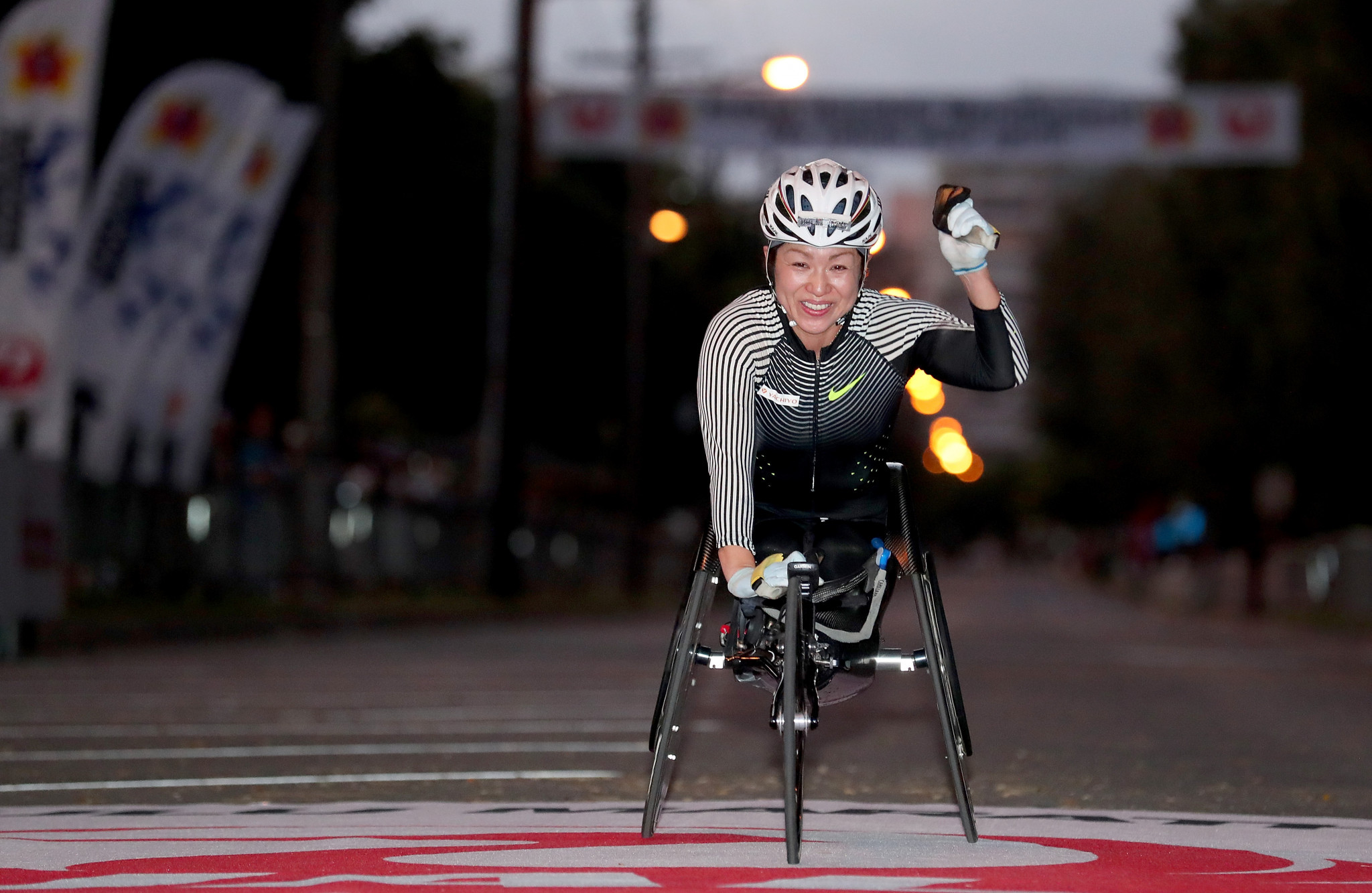 Japanese athlete Wakako Tsuchida is set to star in paratriathlon at Tokyo 2020 ©Getty Images