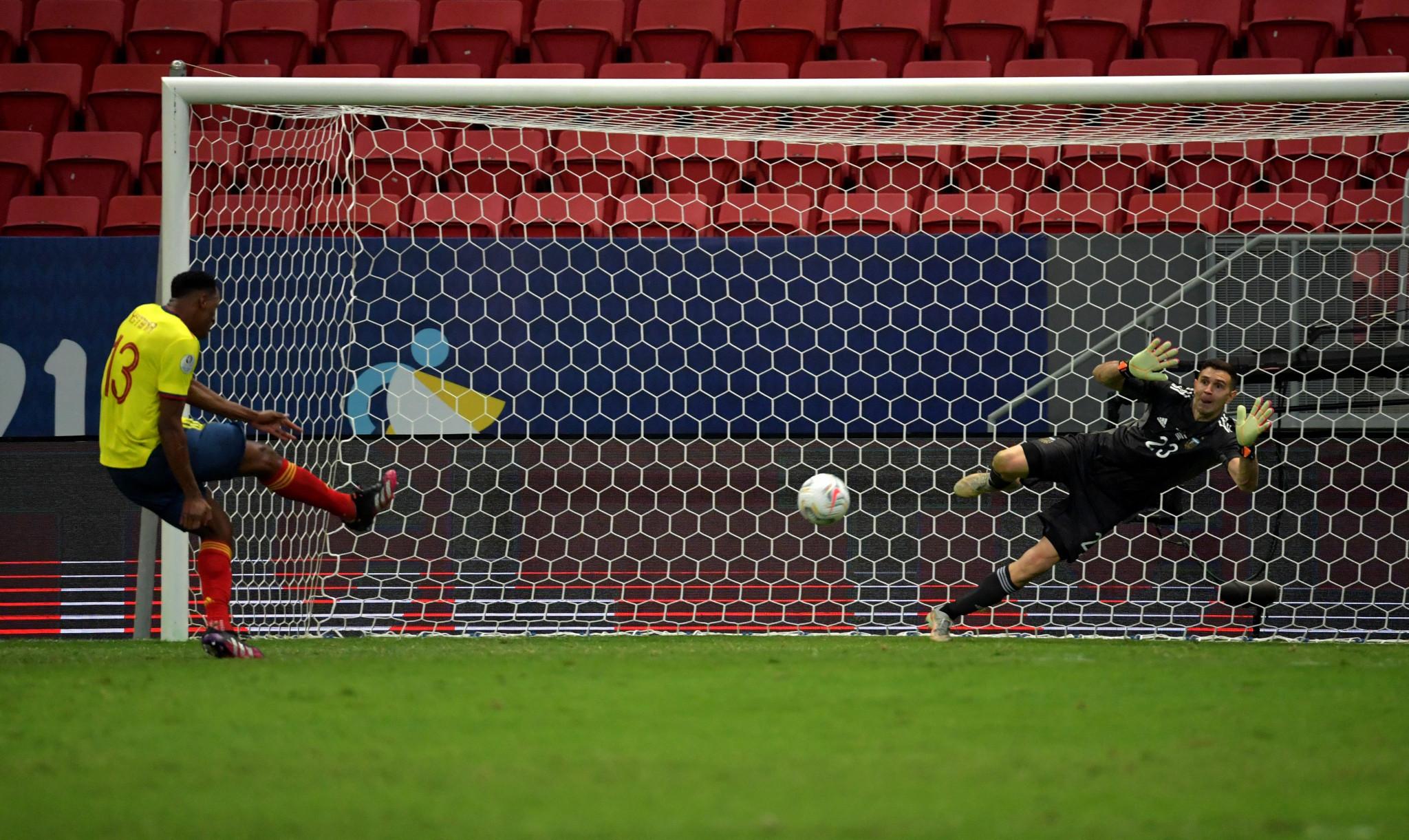 Martinez saves three penalties to send Argentina to Copa América final