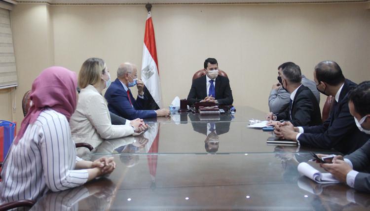 FIAS delegation visits Egypt for African Sambo Championships inspection