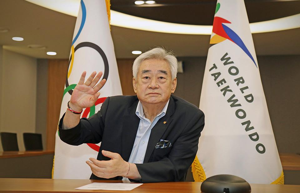 "Choue says ""no reason"" why taekwondo should not be permanent Olympic sport"