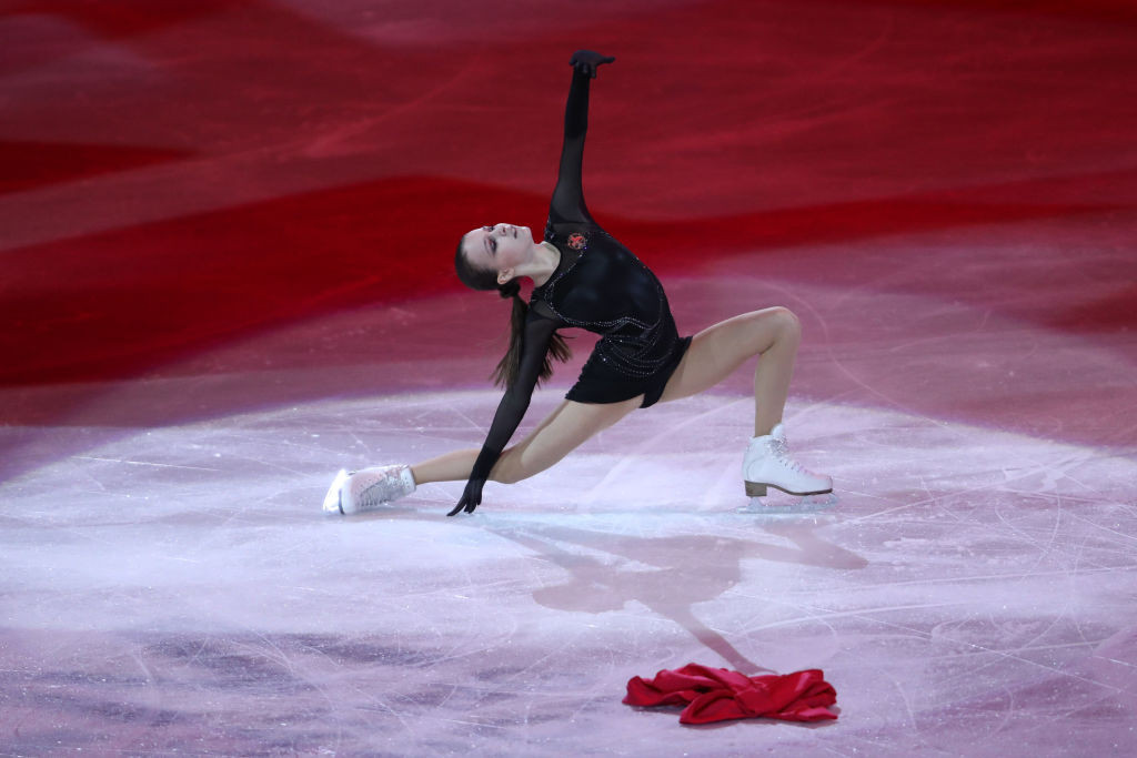 Russia's women's world figure skating champion Anna Shcherbakova will compete in China and France ©Getty Images