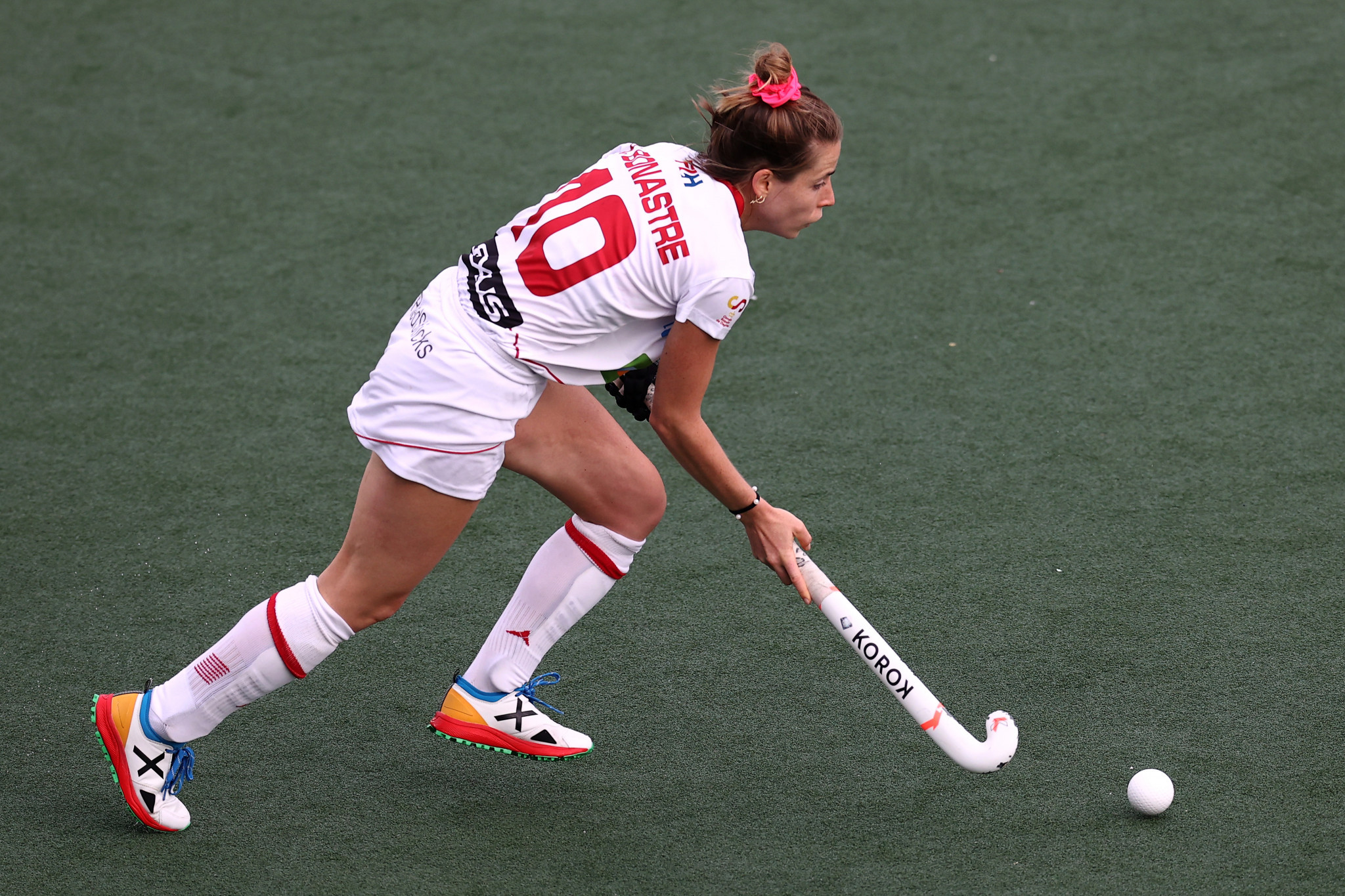 Berta Bonastre Peremateu will hope to help hosts Spain secure promotion from the Hockey Women's Nations Cup ©Getty Images
